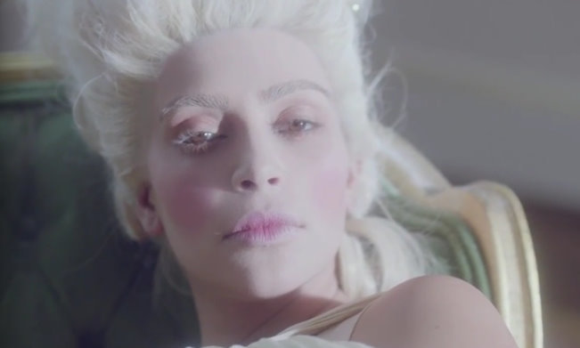 Kim Kardashian channels Marie Antoinette in a bizarre short film