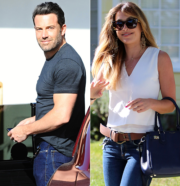 Did Ben Affleck take Christine Ouzounian to Vegas, pay her hotel bill?