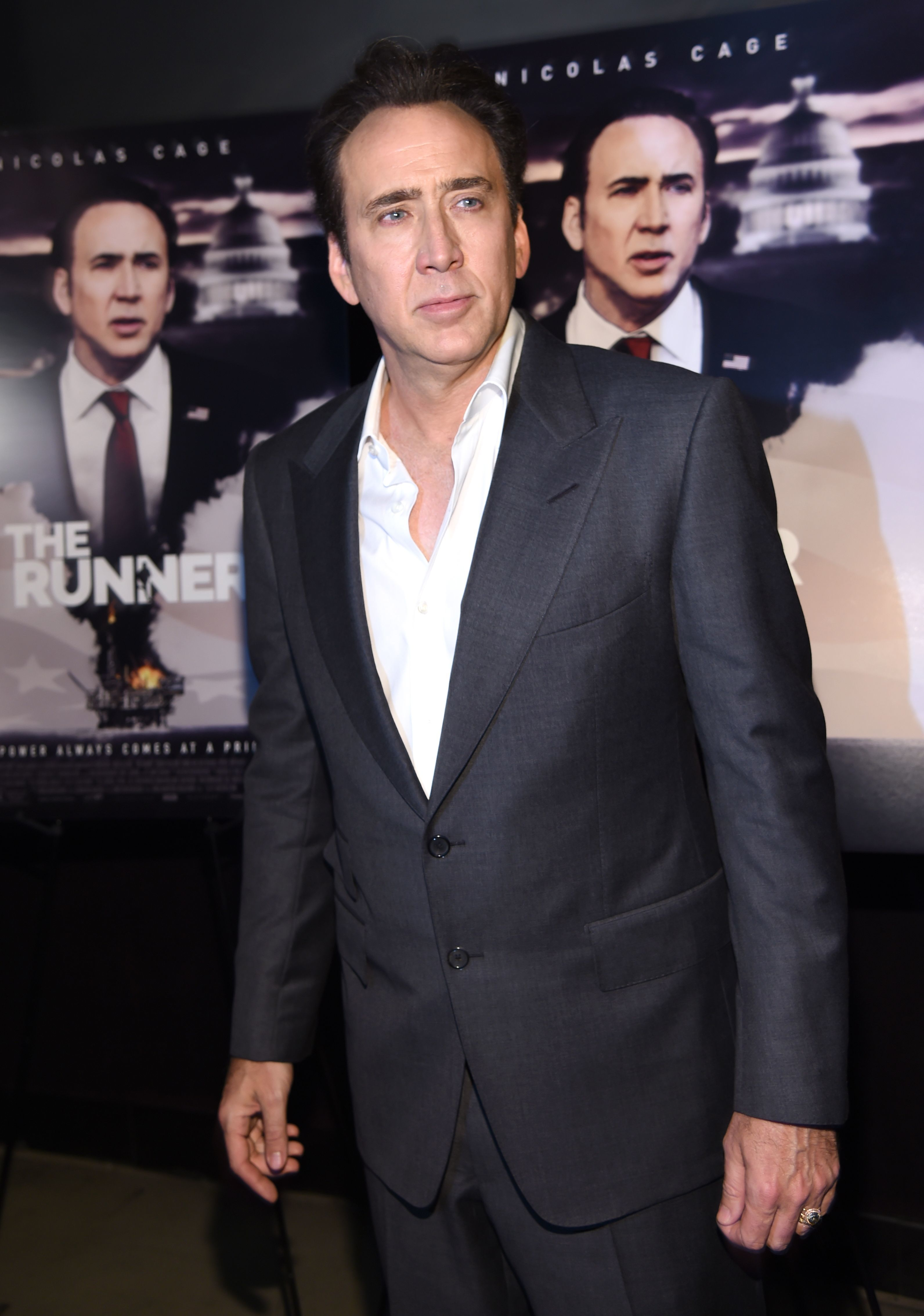 Nicolas Cage suffers 'unforeseen dizziness,' skips SXSW premiere