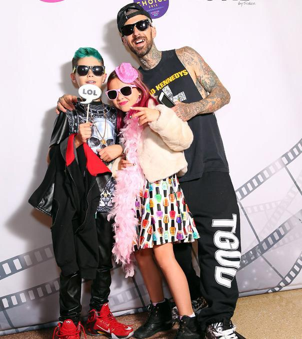 travis barker kids