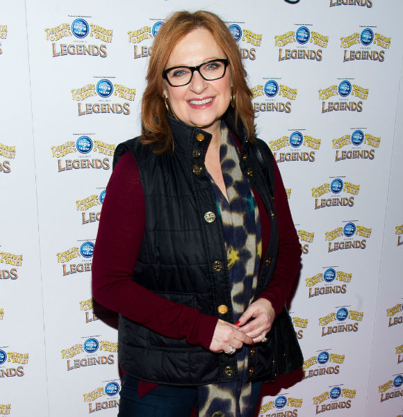 Caroline Manzo attends the Ringling Bros. and Barnum & Bailey Present Legends circus in New York on Feb. 20, 2014.