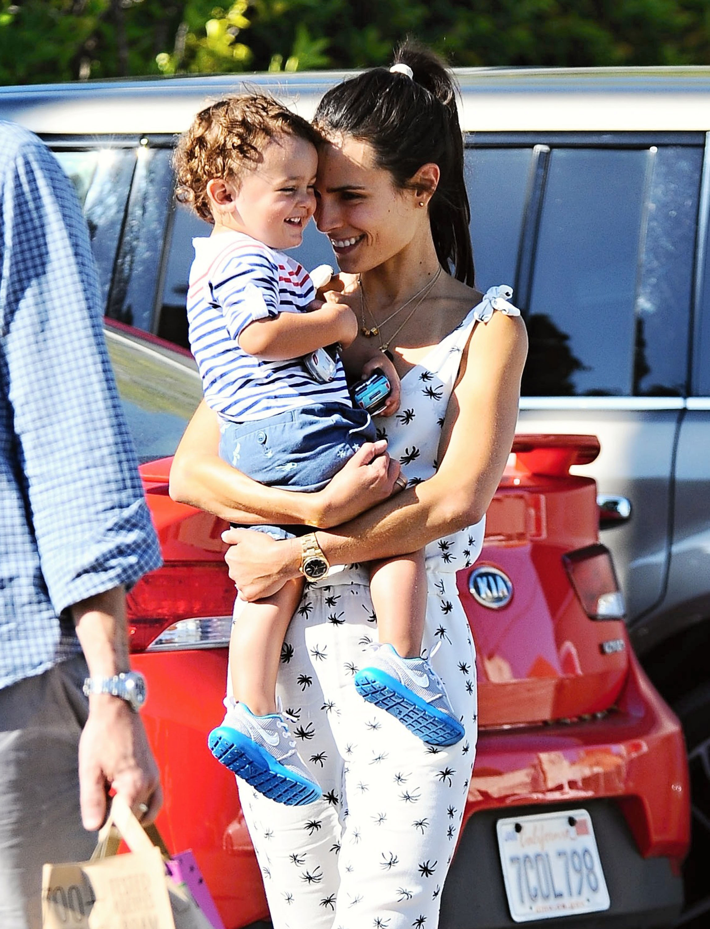 Jordana Brewster on the latest with her toddler son, Julian: