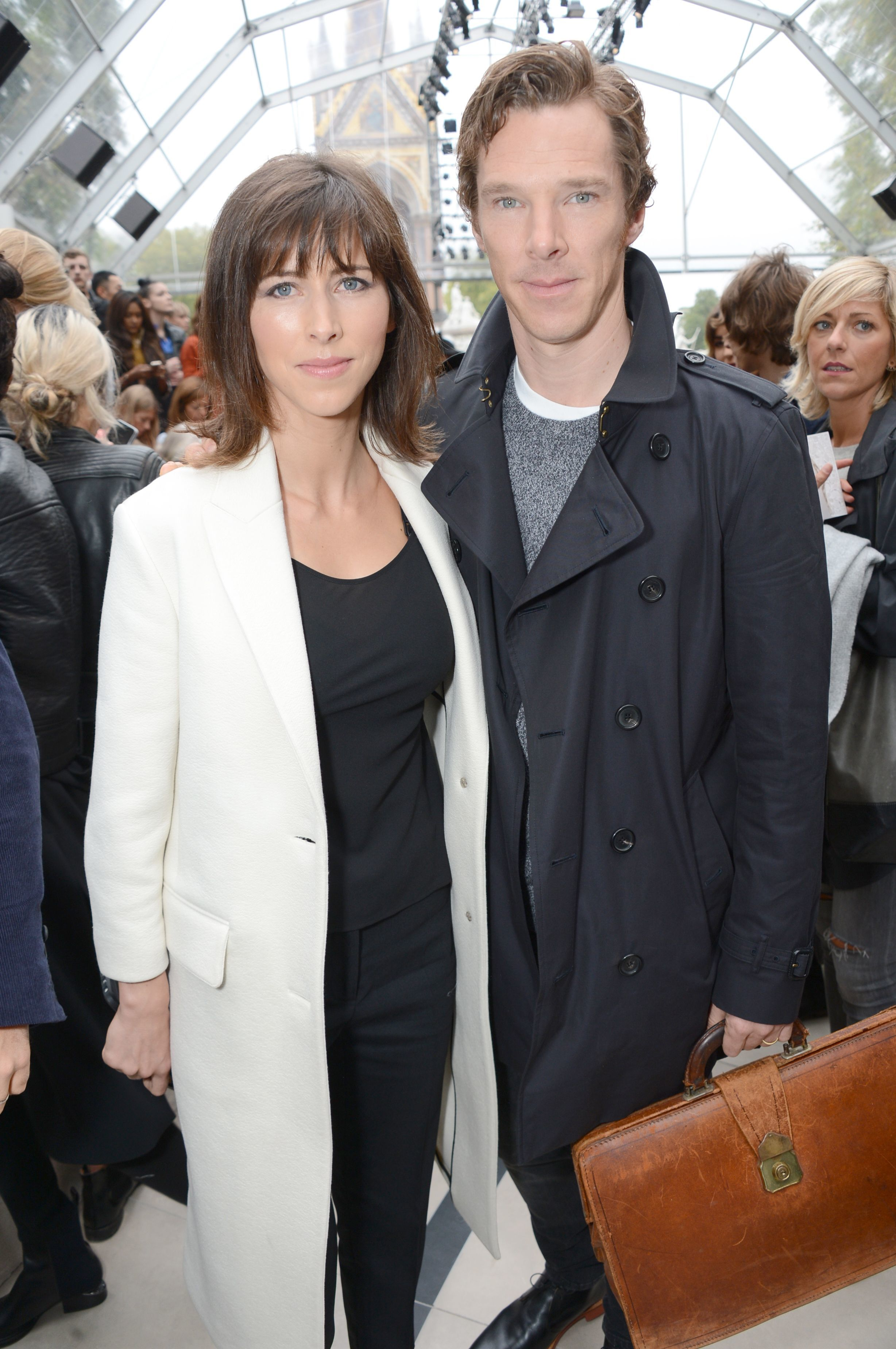 Pregnancy buzz hits Benedict Cumberbatch's wife, Sophie Hunter