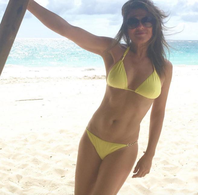 elizabeth hurley bikini