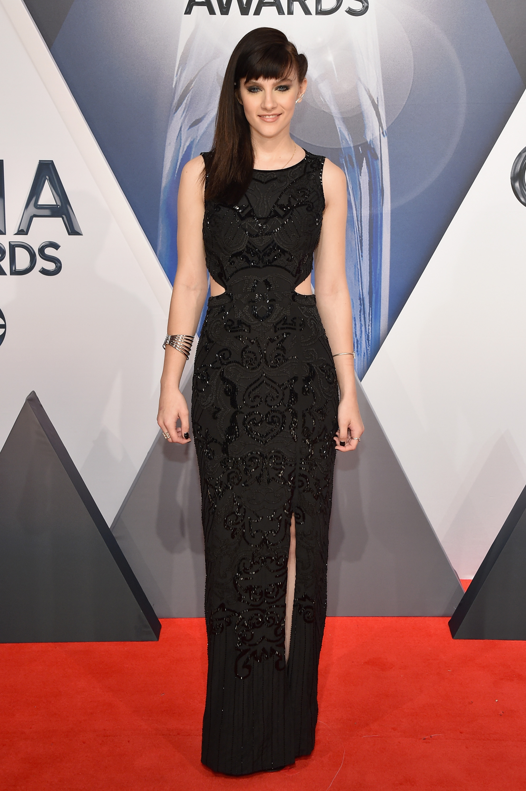 Aubrey Peeples At The Cma Awards Celebrity Style Hits And Misses For November 2015 Gallery