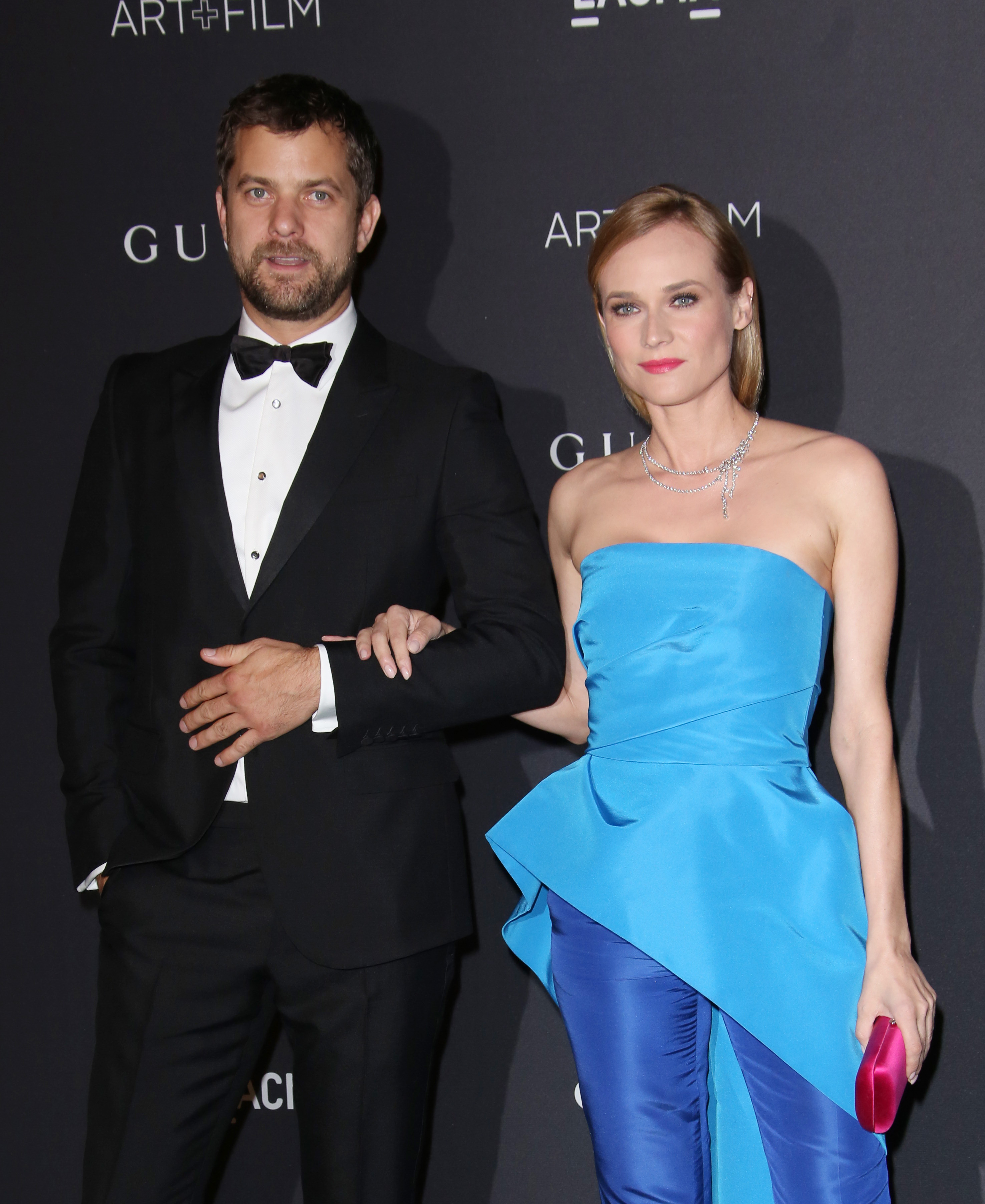 Diane Kruger moved in with Joshua Jackson