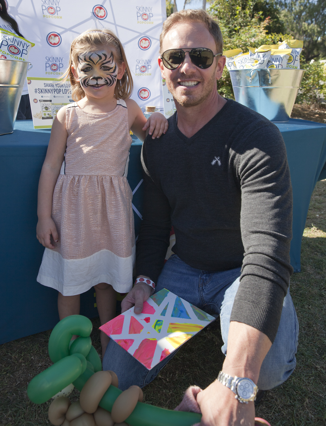 Ian Ziering on what his 5 year old was attempting to negotiate for: