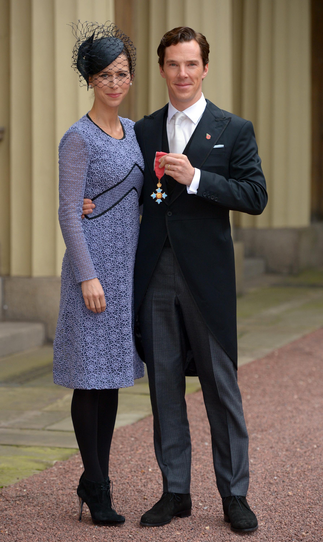 Benedict Cumberbatch honored by Queen Elizabeth