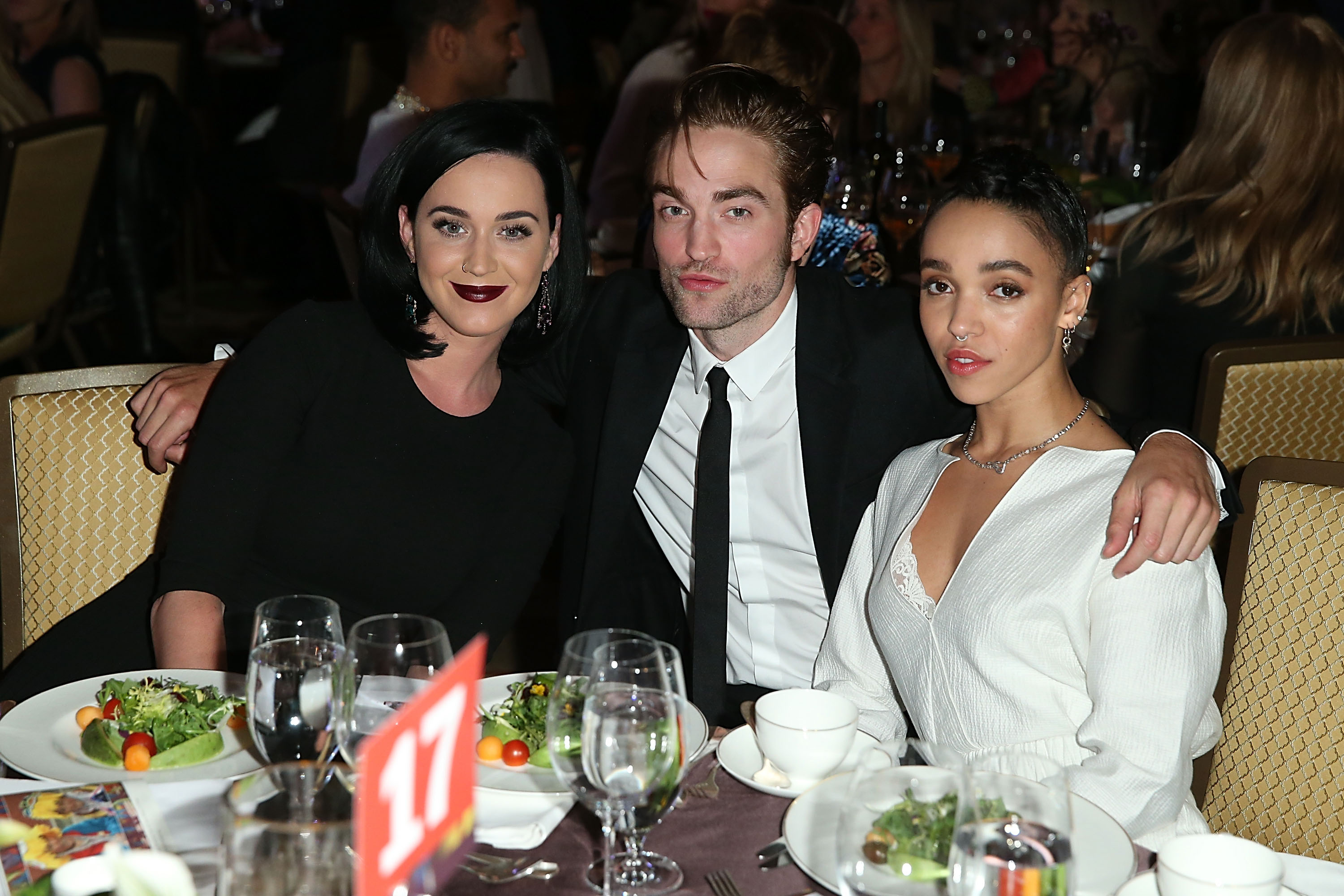Is Robert Pattinson leaning on Katy Perry following his split from FKA Twigs?
