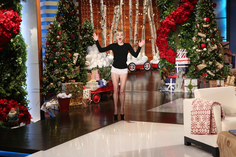 Anna Faris on Ellen show