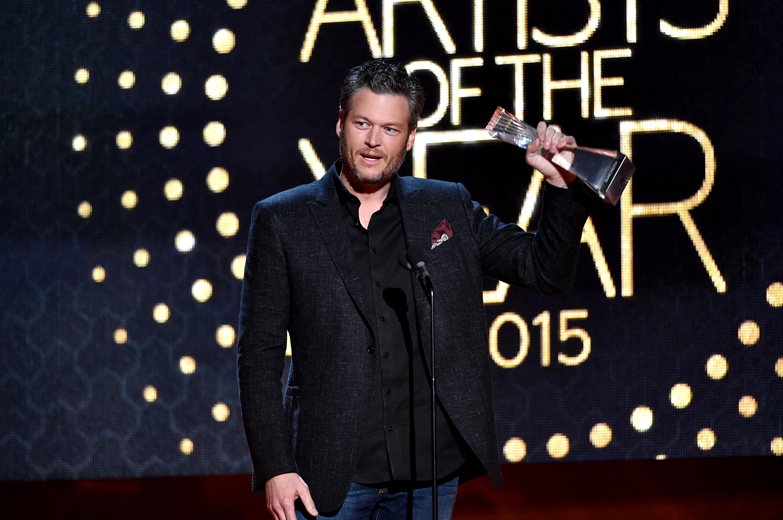 Blake Shelton CMT Artist of the Year