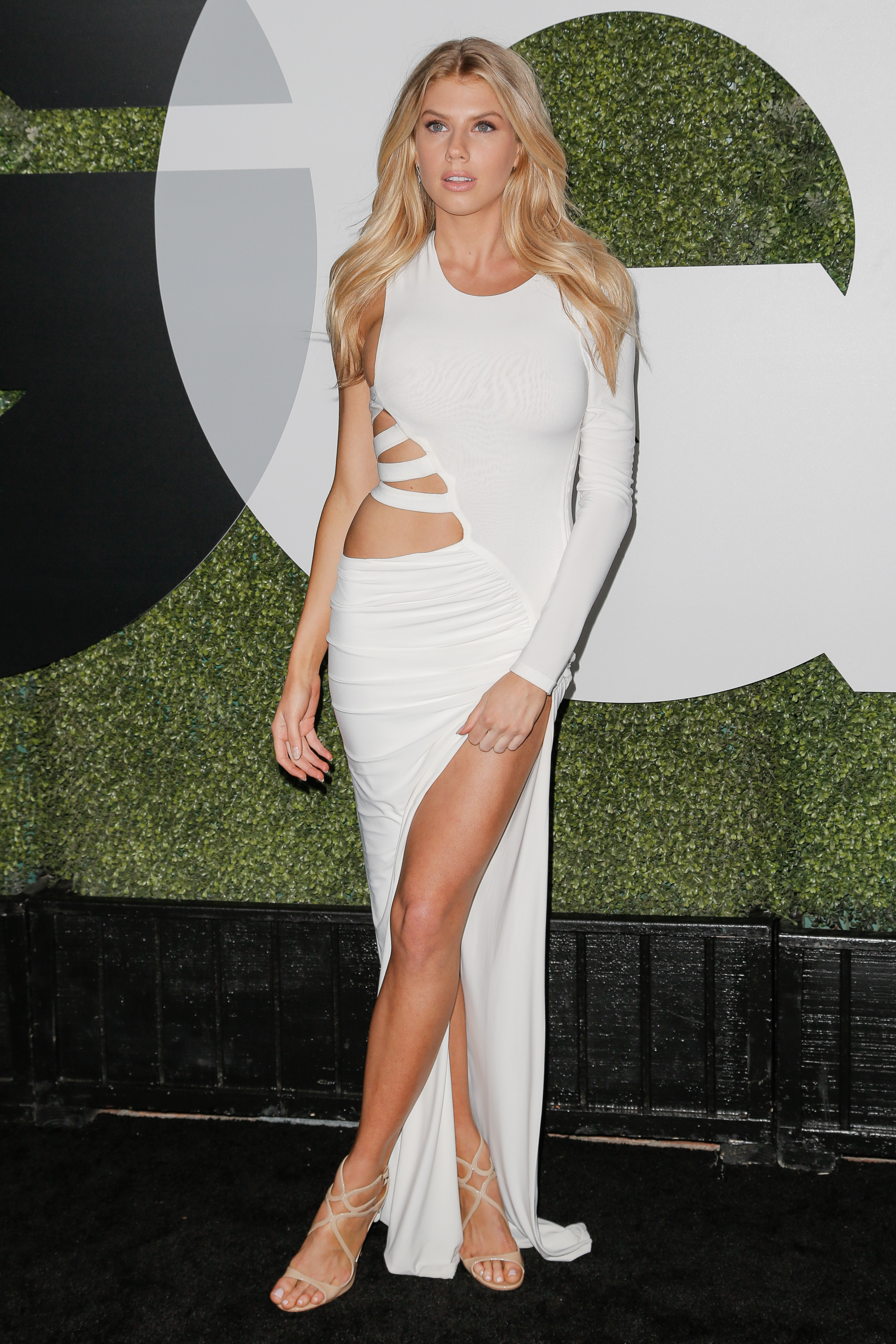 charlotte mckinney gq party