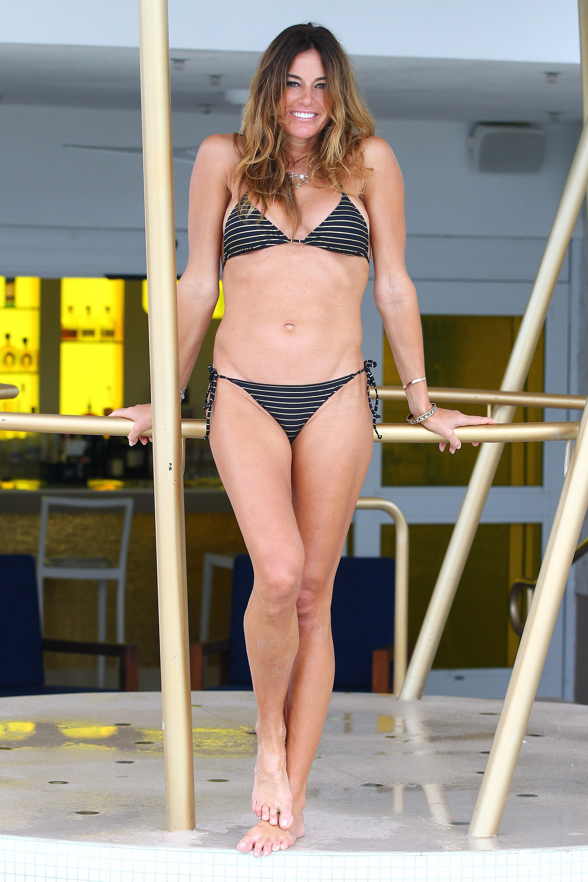 Kelly Bensimon Bikini Real Housewives Stars At The Beach