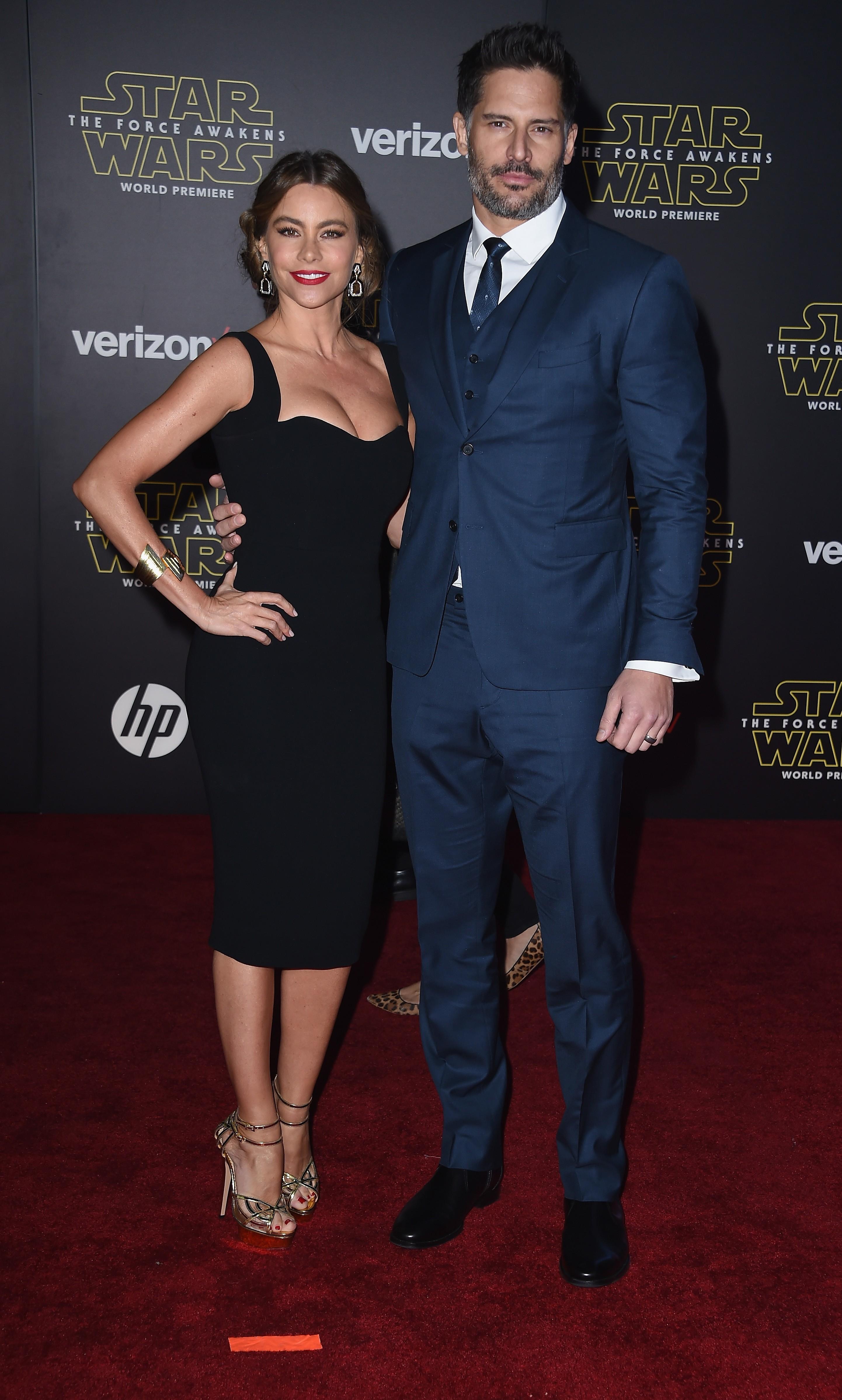 Sofia Vergara and Joe Manganiello make their red carpet debut as newlyweds