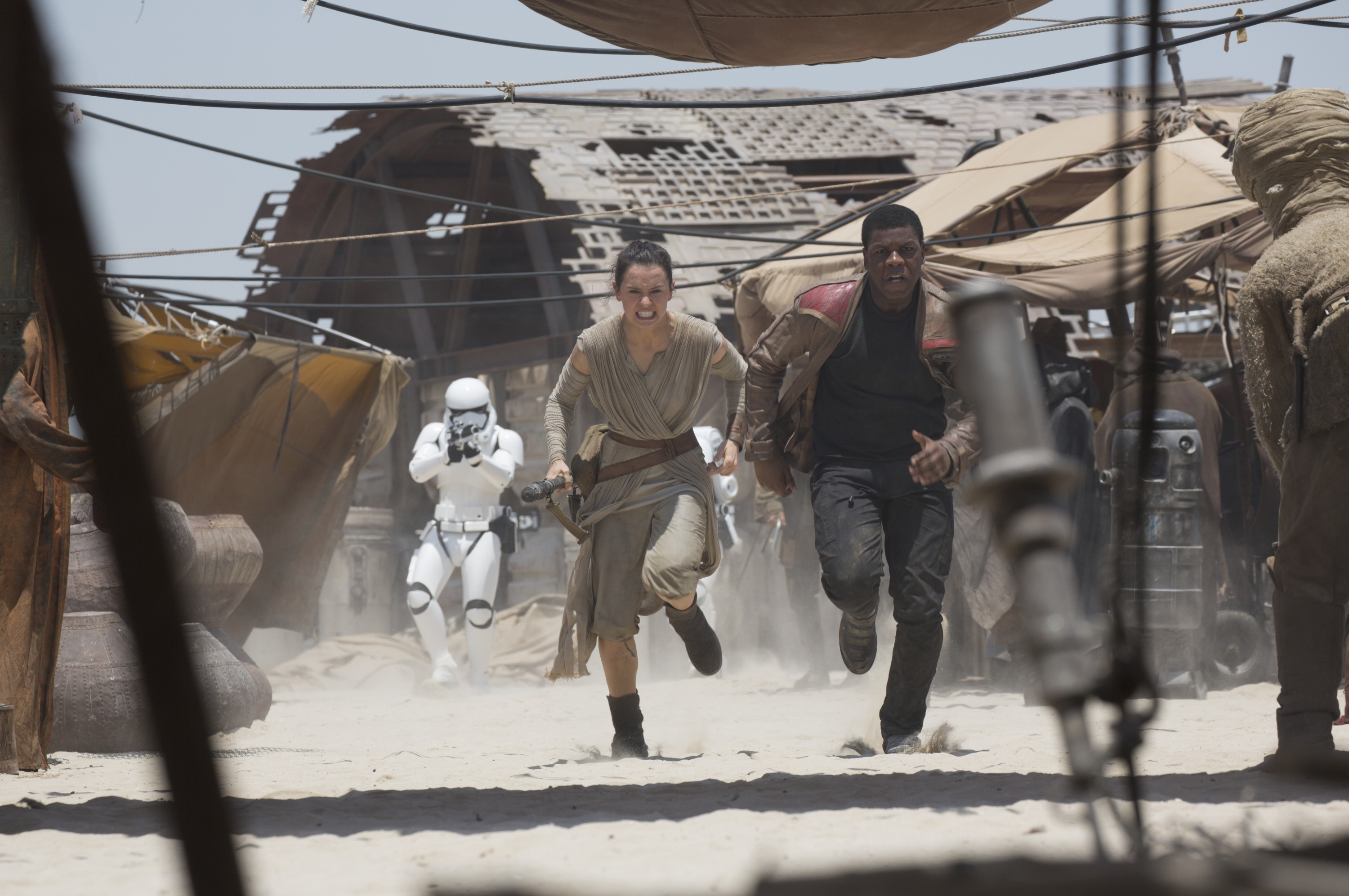 4. It was not easy for her to prep to play Rey