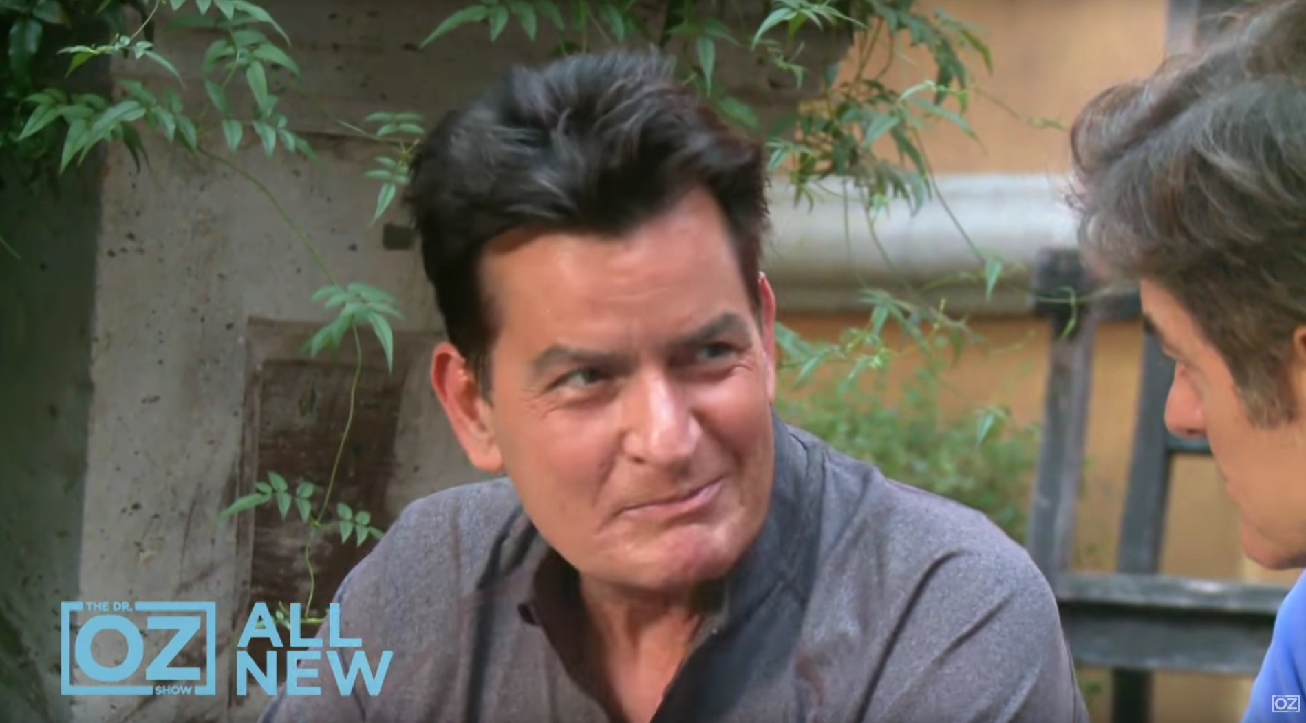 charlie sheen dr oz