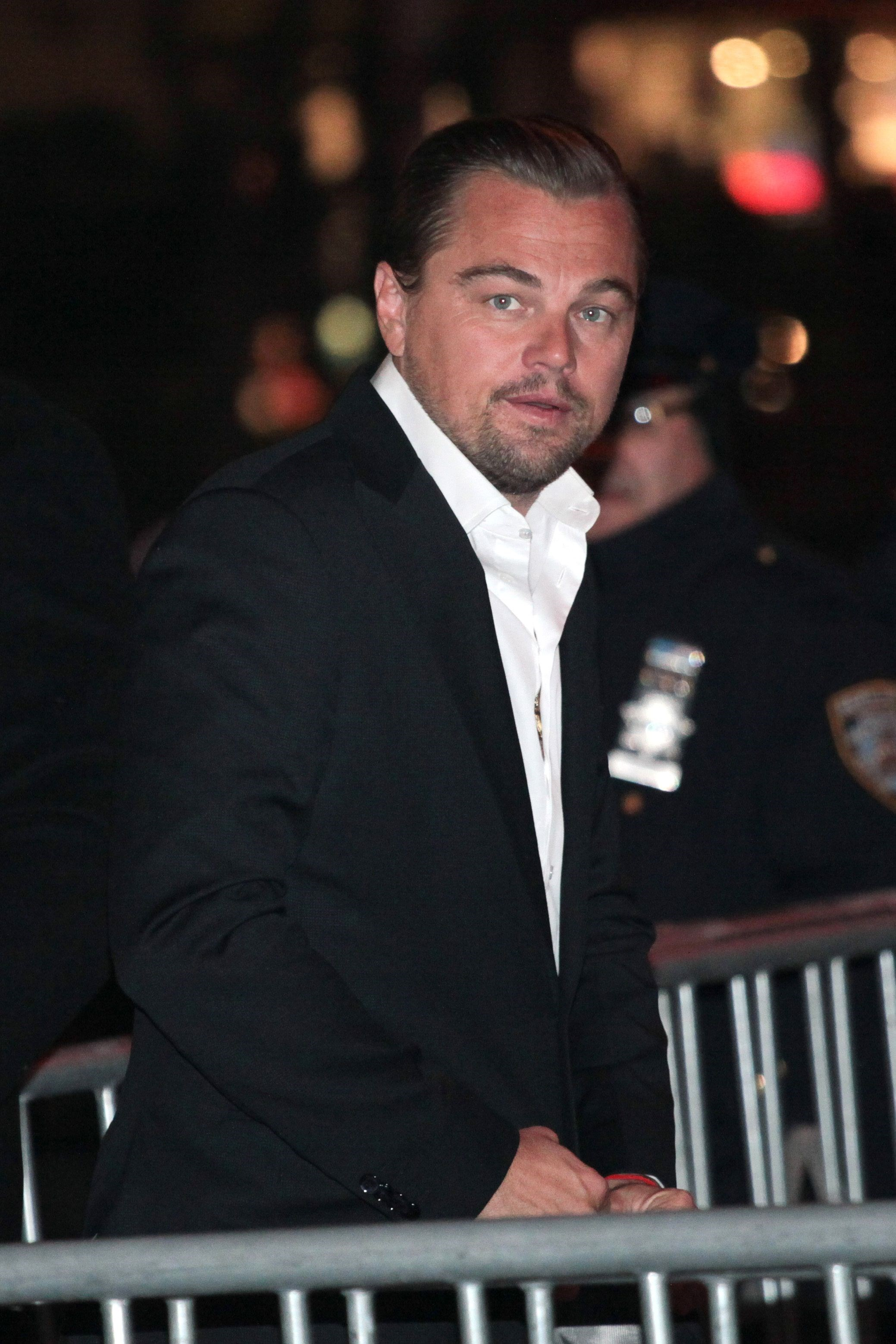 Leonardo DiCaprio shows his Beyhive stripes