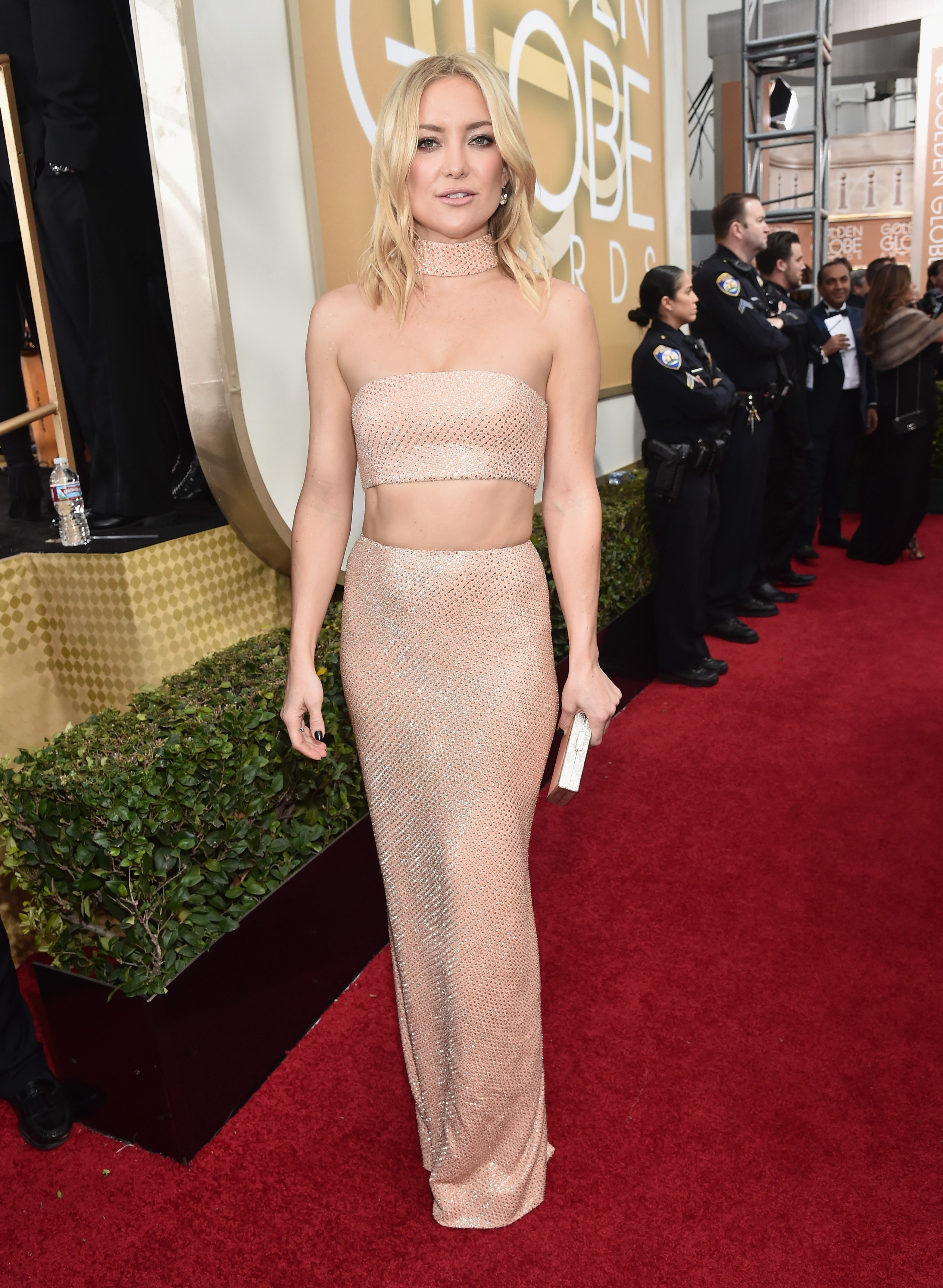 Kate Hudson wore $1.3M worth of diamonds to the Golden Globes