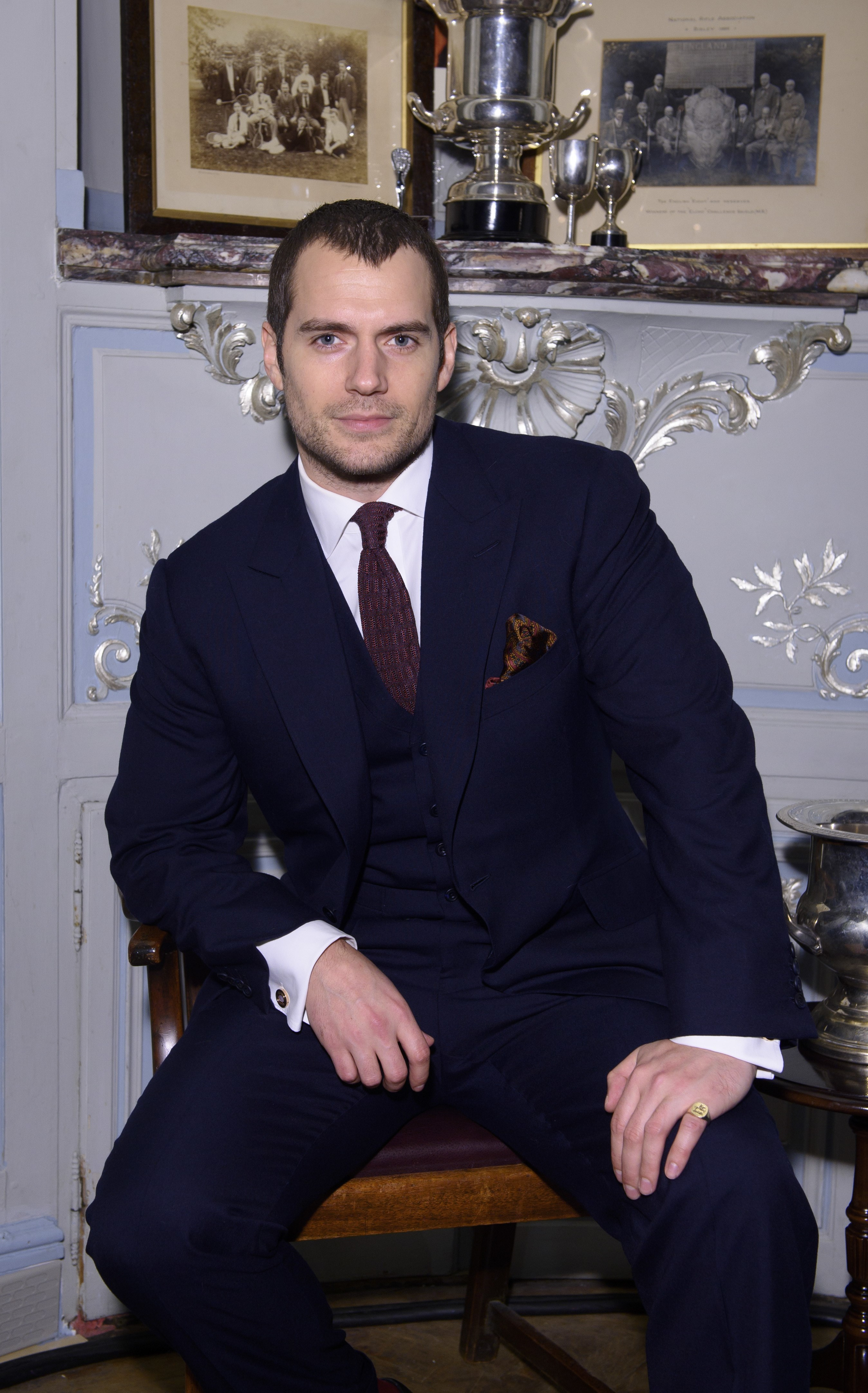 Henry Cavill took his 19 year old girlfriend home to meet his parents