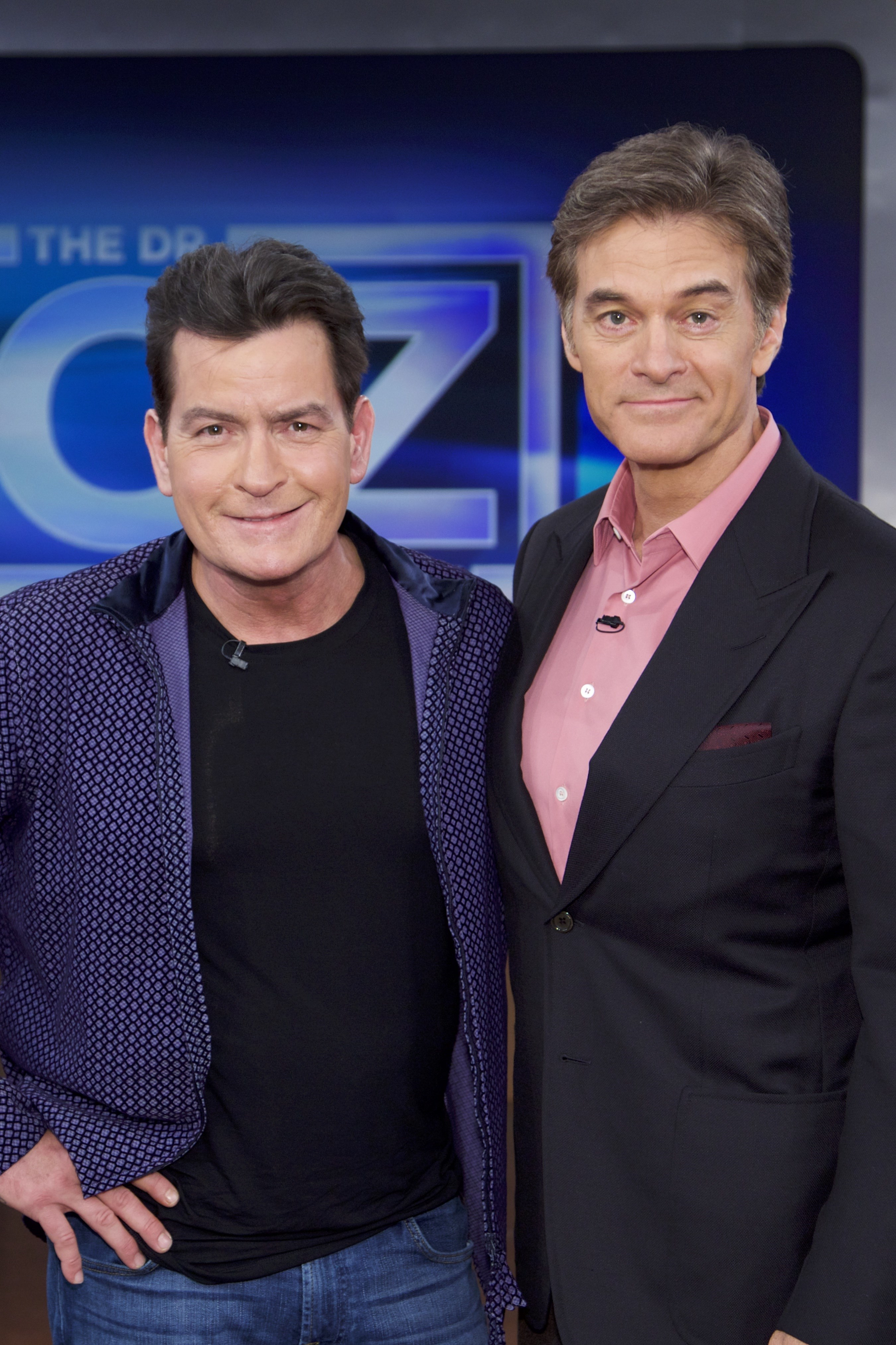Dr. Oz and Charlie Sheen Photo 2