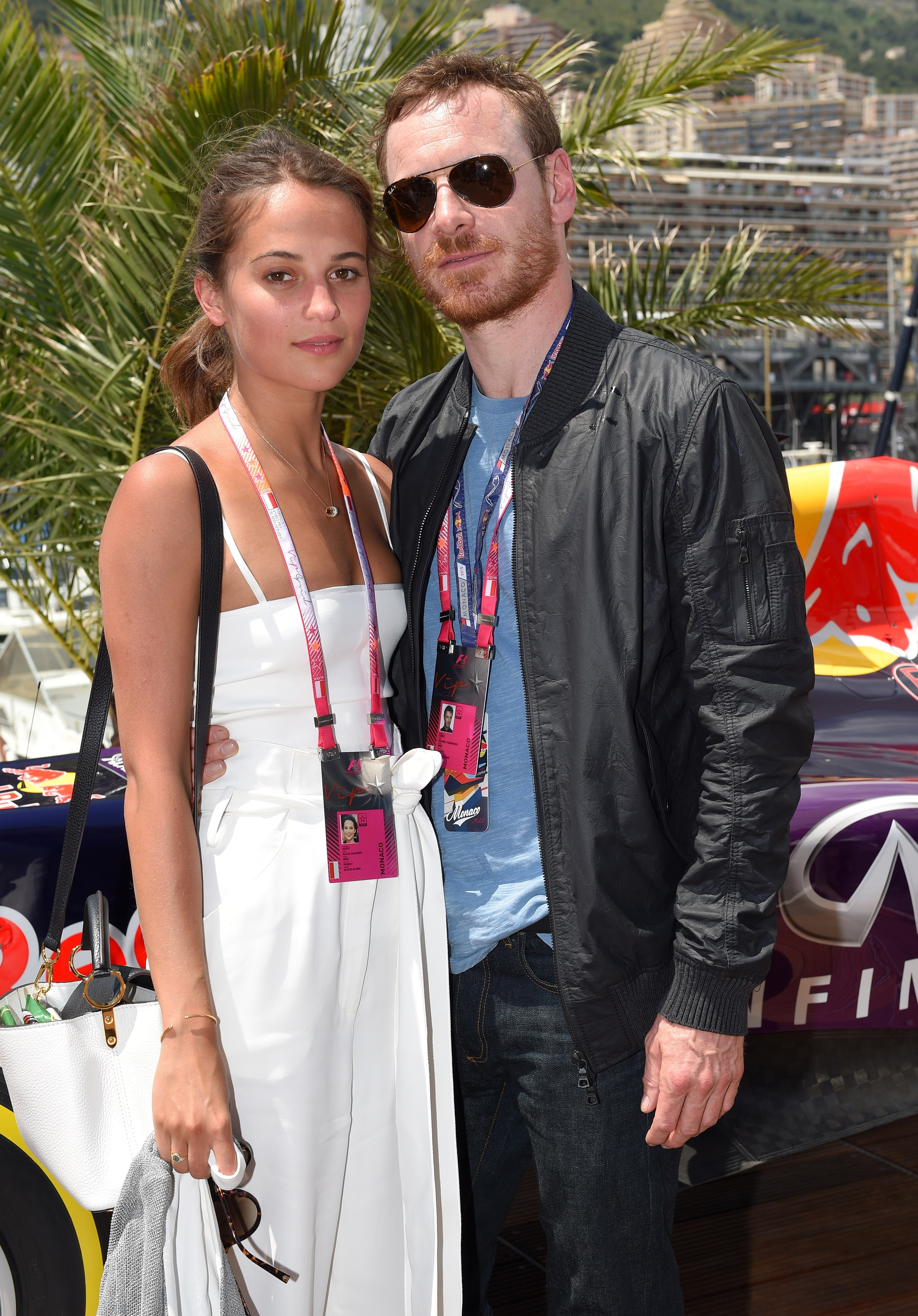 Michael Fassbender, Alicia Vikander recall falling in love on set