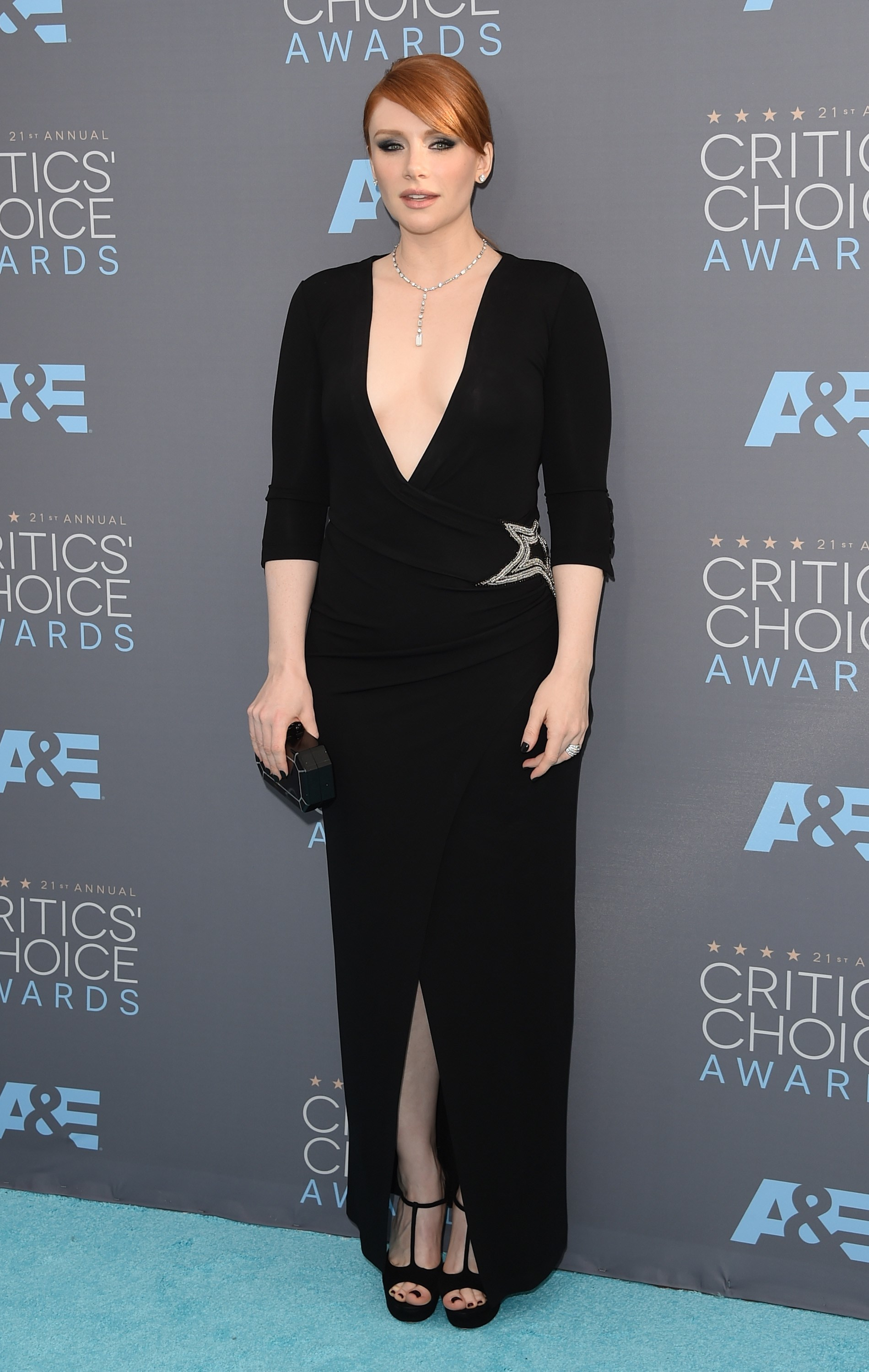 Guess where Bryce Dallas Howard's Critics' Choice dress came from