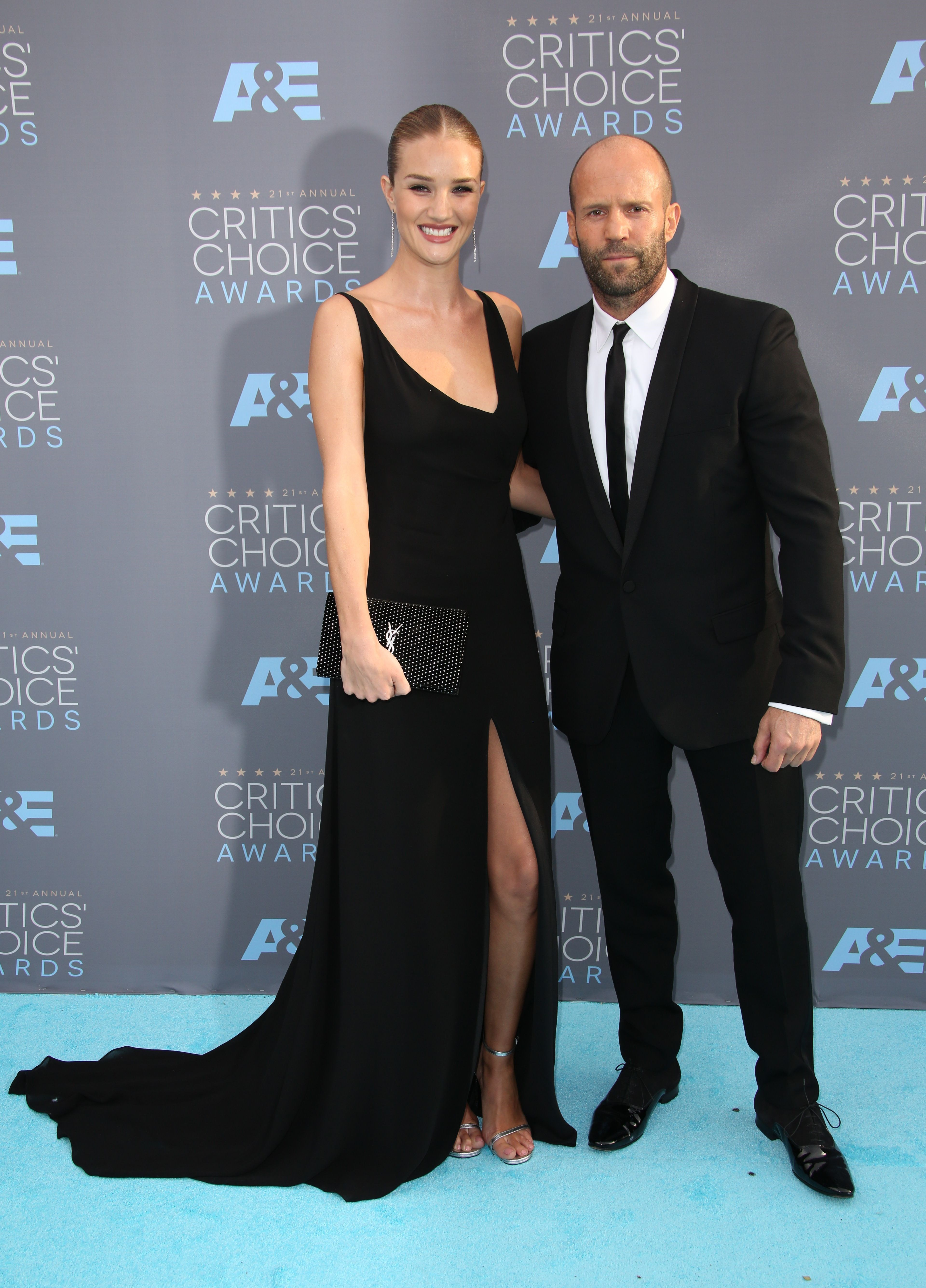 Jason Statham mum on Rosie Huntington Whitely wedding