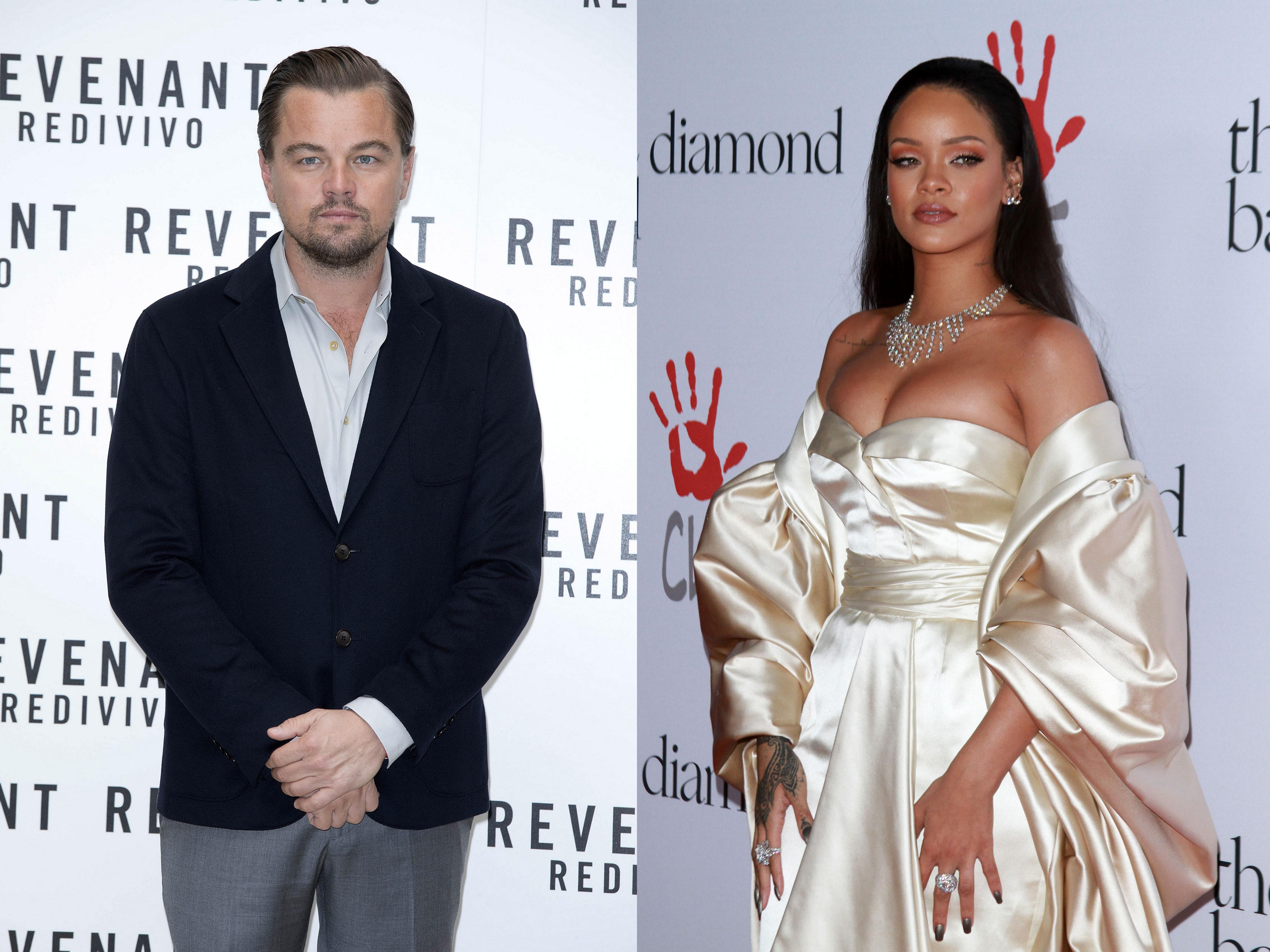 Leonardo DiCaprio parties with Rihanna at Coachella