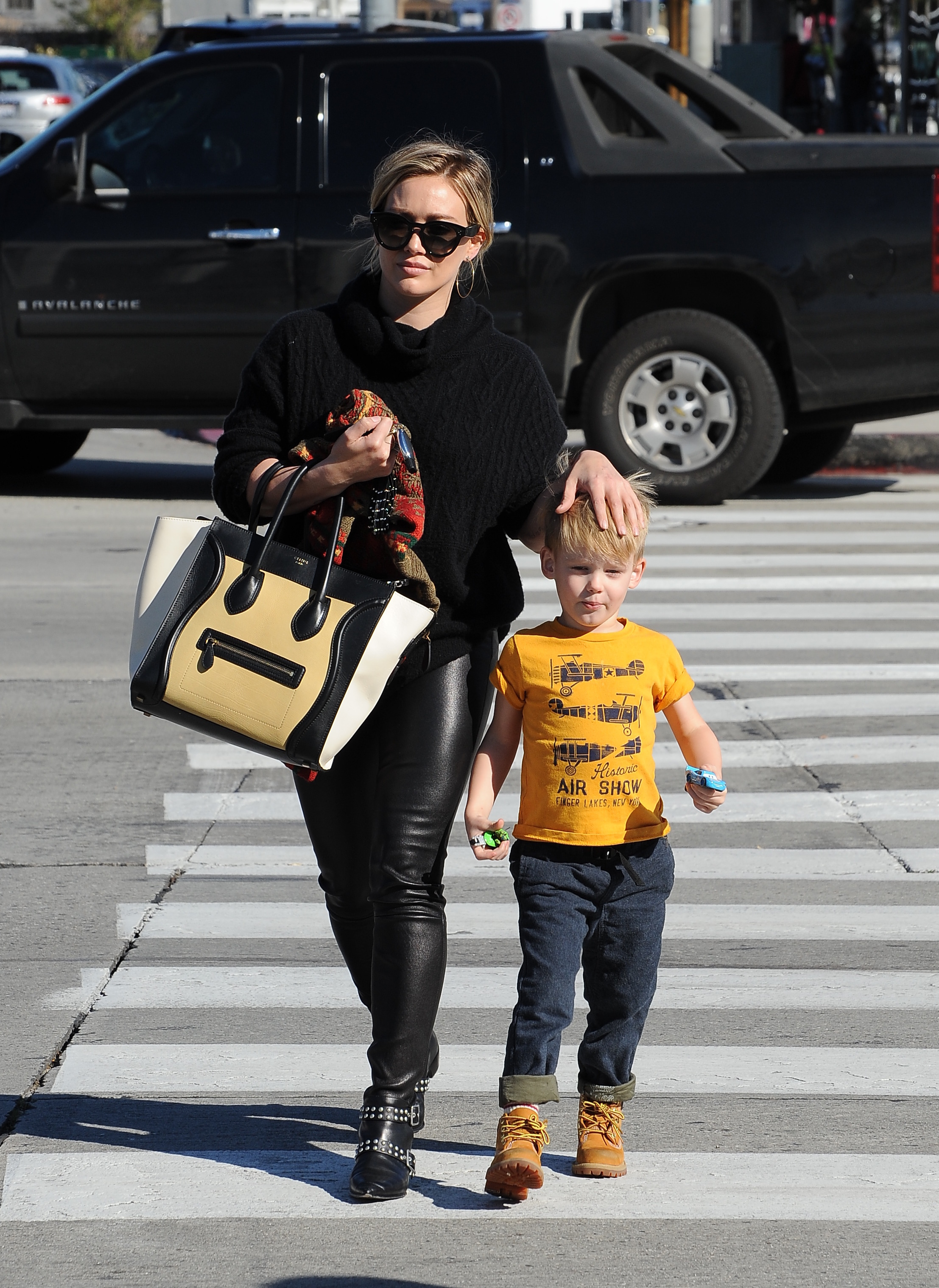 Hilary Duff and Mike Comrie remain pals two years after split
