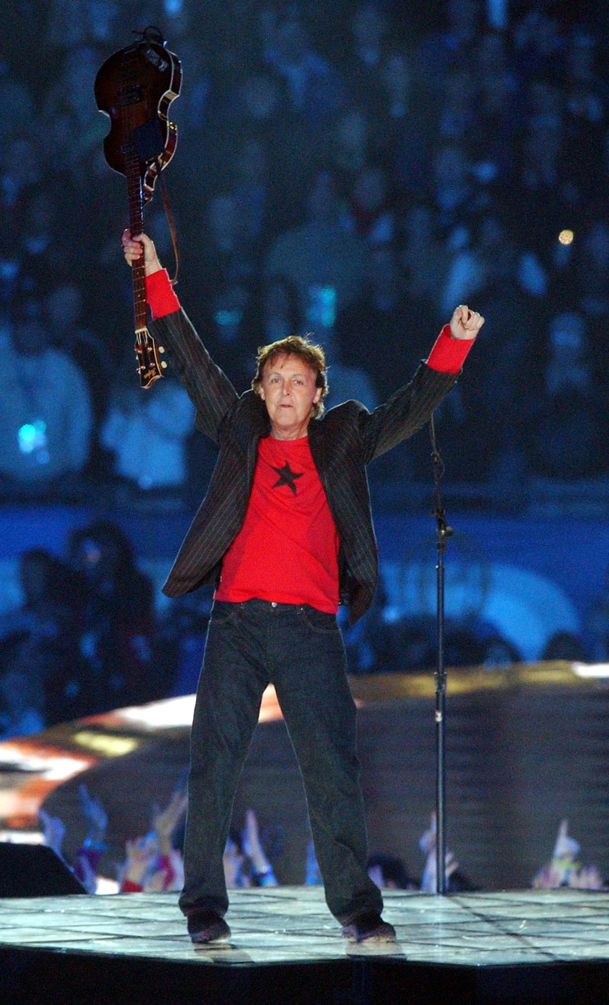 Paul McCartney in 2005