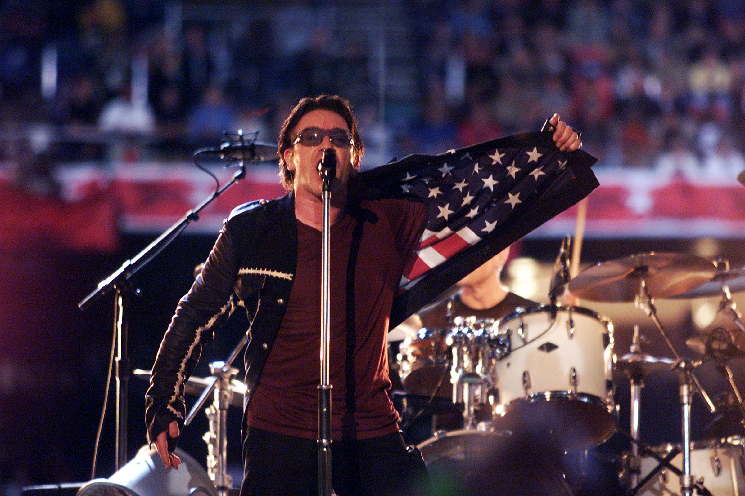 U2 in 2002