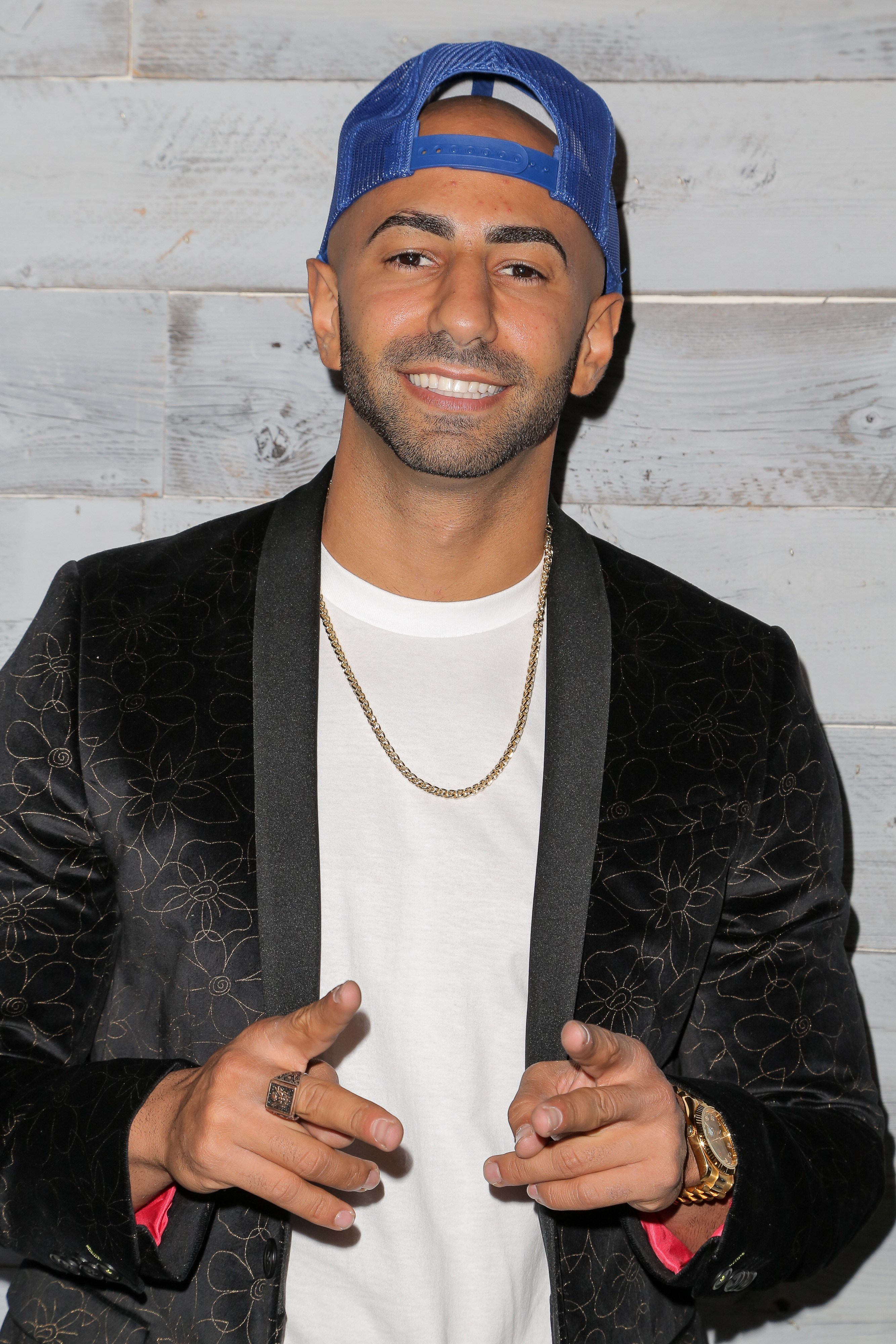 Yousef Saleh Erakat also known as Fouseytube at an event in Los Angeles on Sep. 24, 2015.