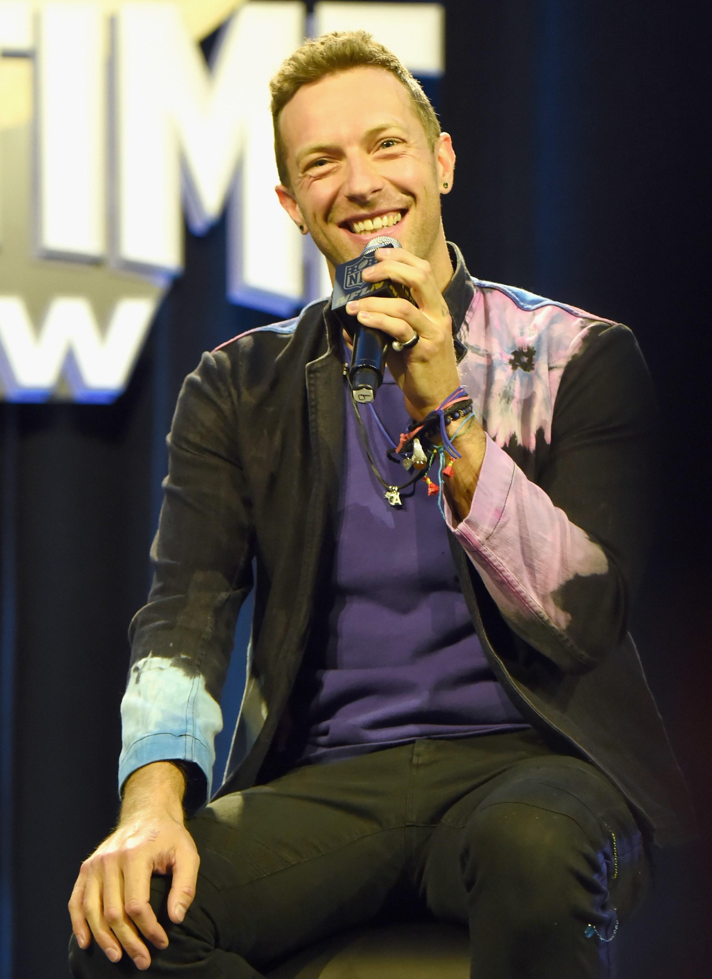 """Chris Martin: """"A Sky Full of Stars"""""""