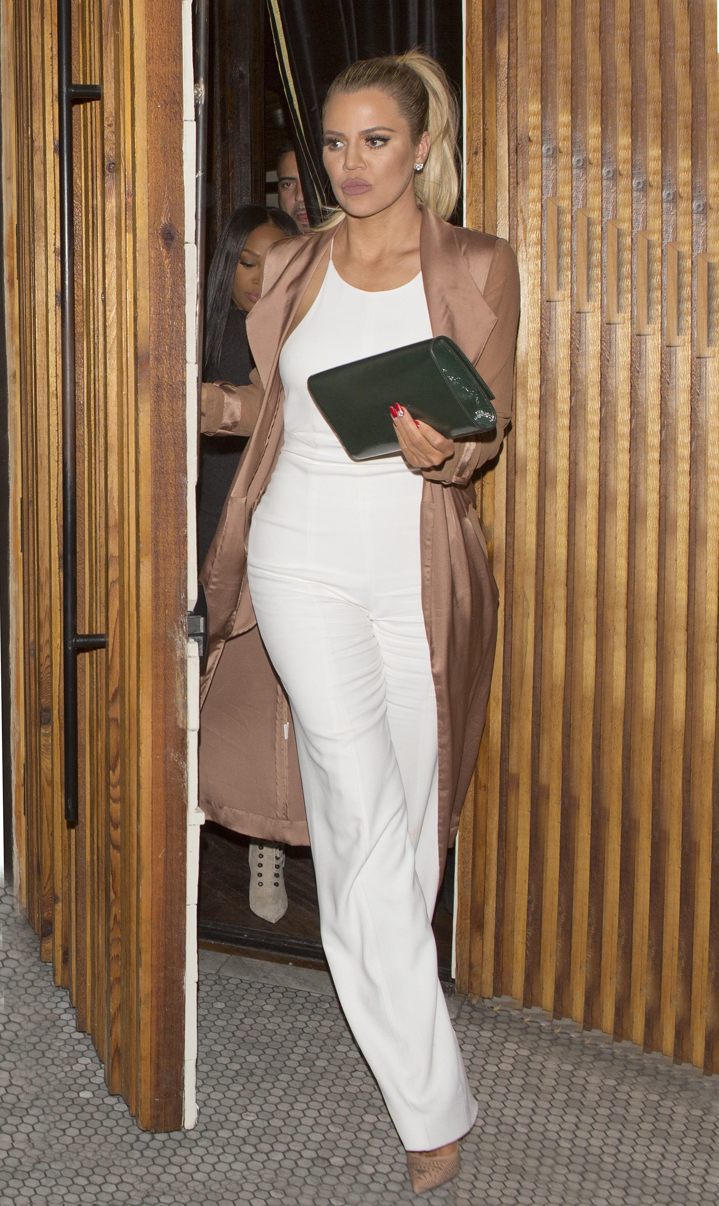 khloe kardashian white