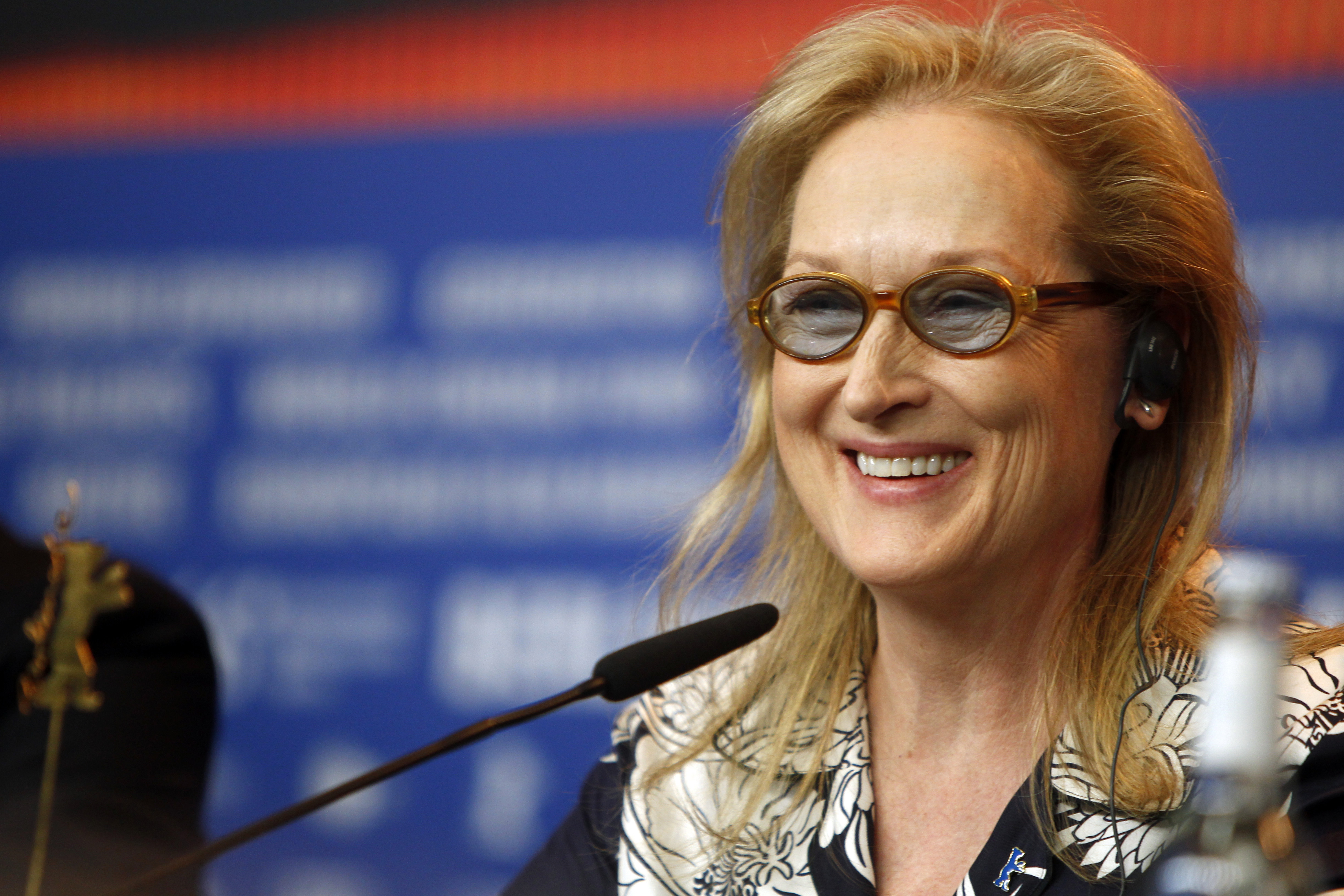 Meryl Streep is confused about Snapchat