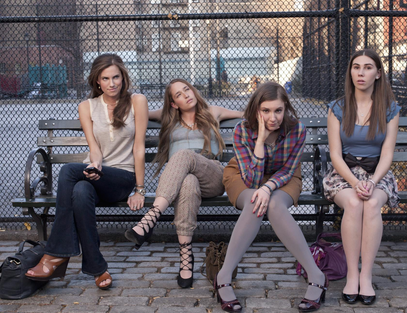 Lena Dunham, Allison Williams dish on the end of 'Girls'