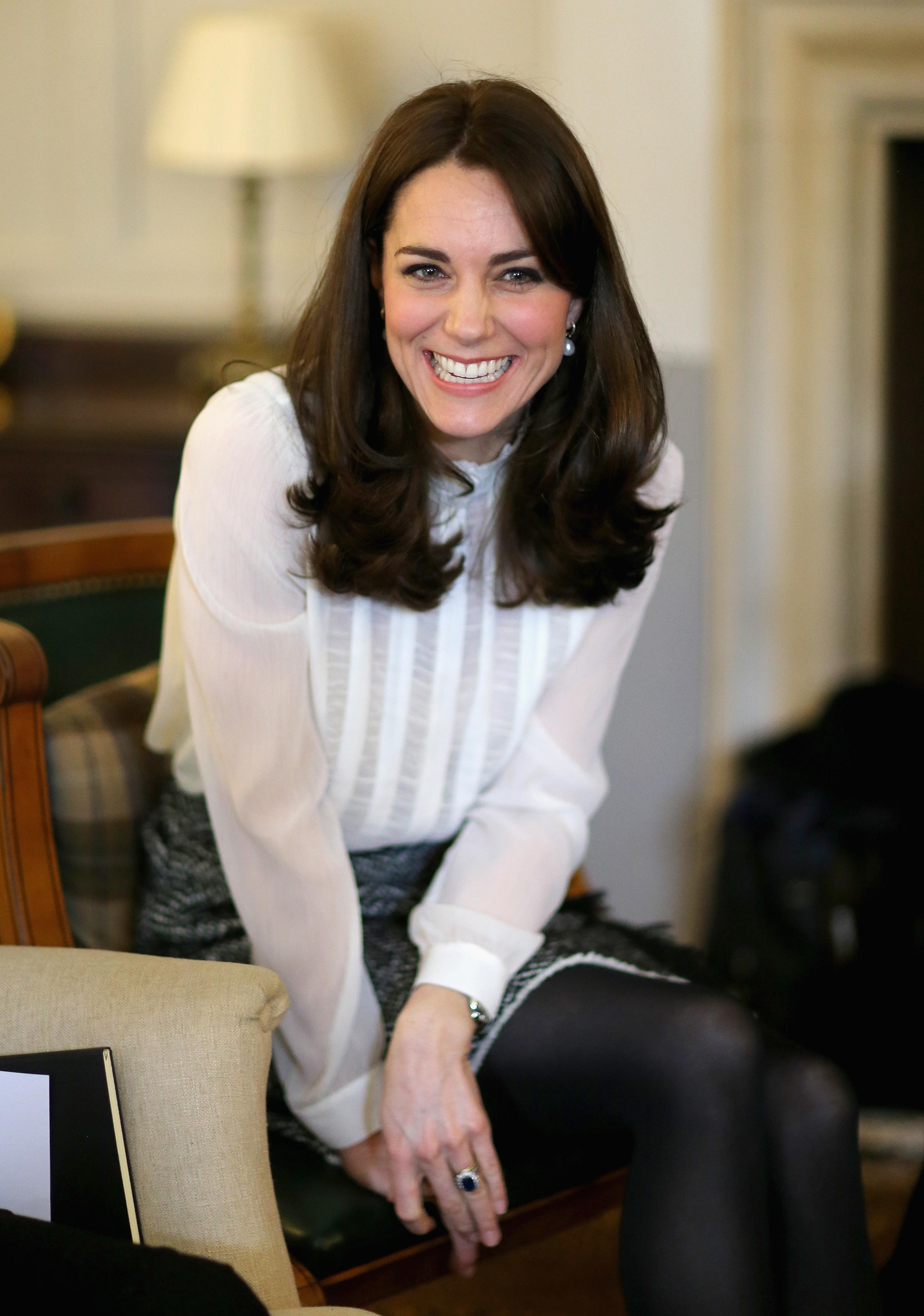 Duchess Kate edits the Huffington Post
