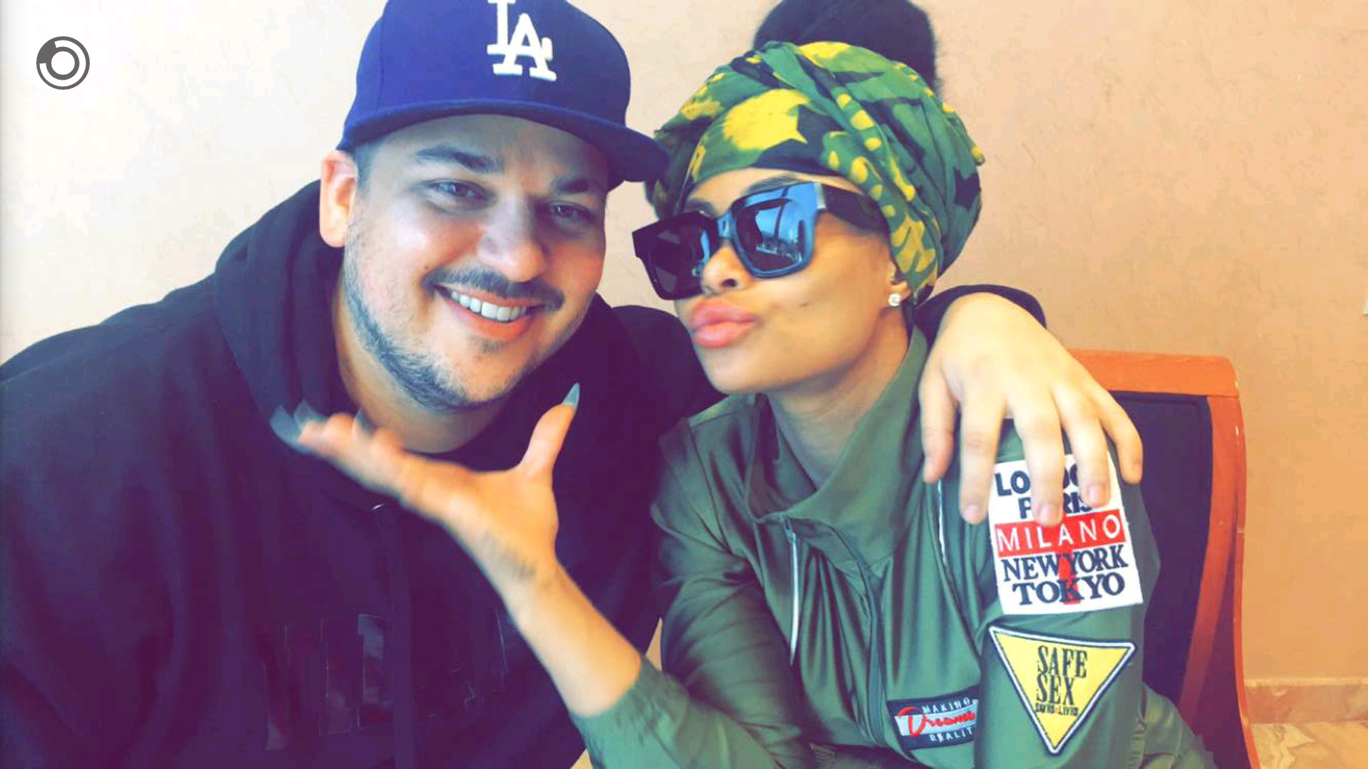 Blac Chyna jokes about having a baby with Rob Kardashian
