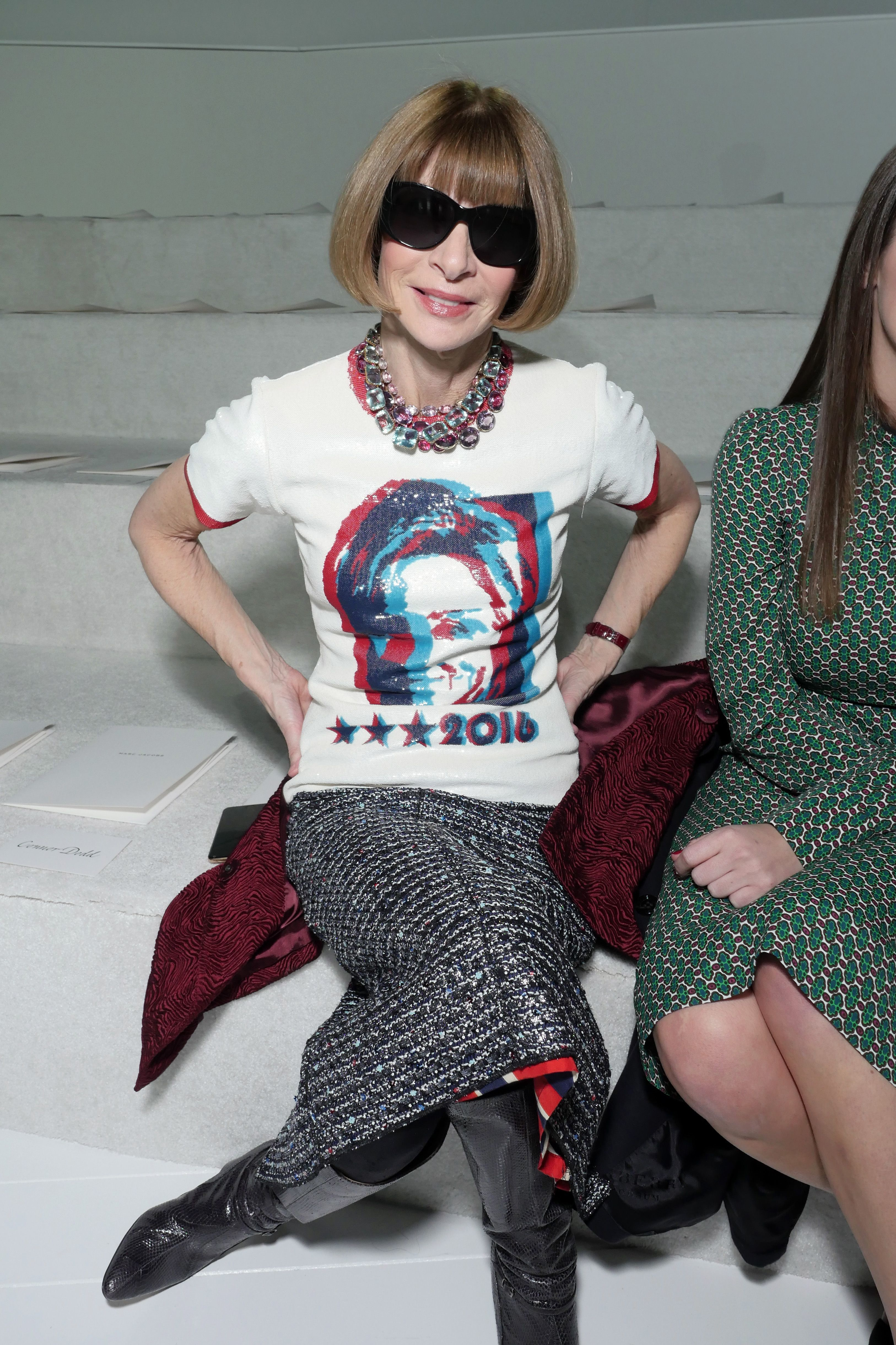 Anna Wintour reveals the reason for those bangs