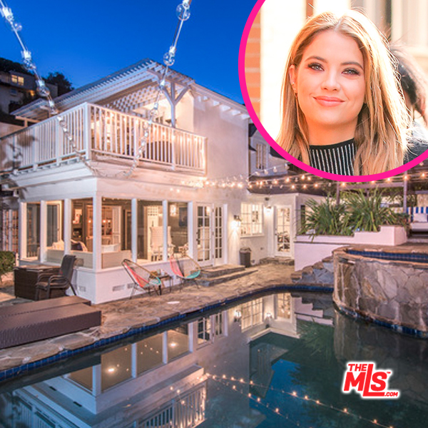 Is Ashley Benson getting into the real estate flipping biz?