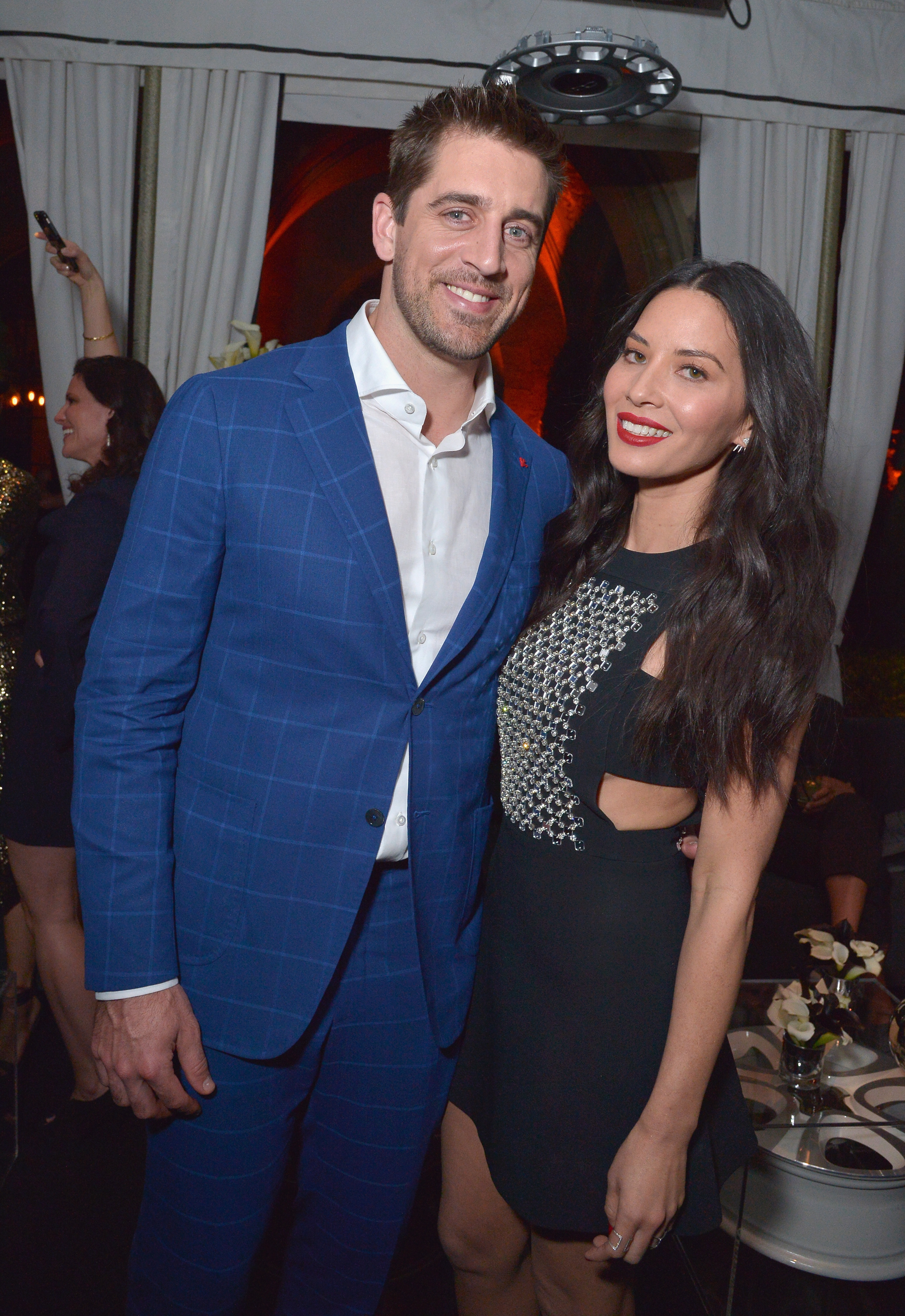 Olivia Munn implicated in Aaron and Jordan Rodgers' family feud