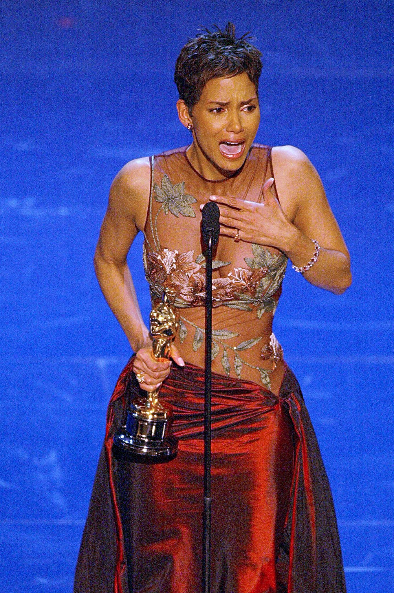 "Halle Berry (Best Actress, ""Monster's Ball,"" 2002)"