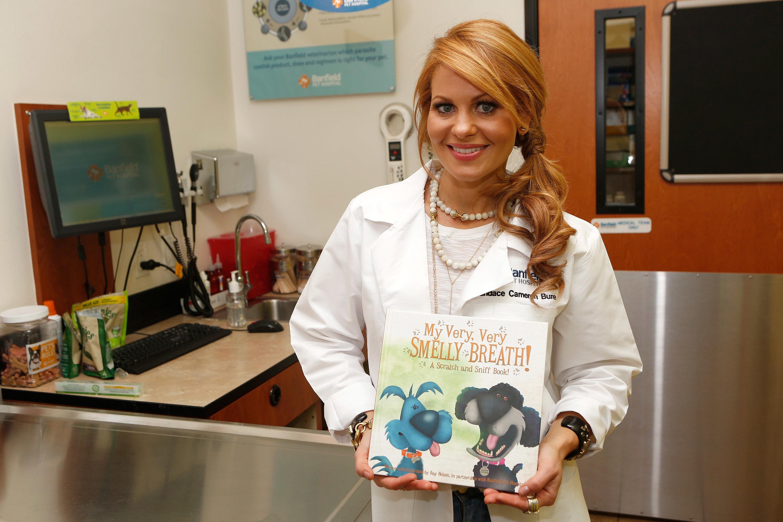 Candace Cameron Bure on making pets' dental health a family affair: