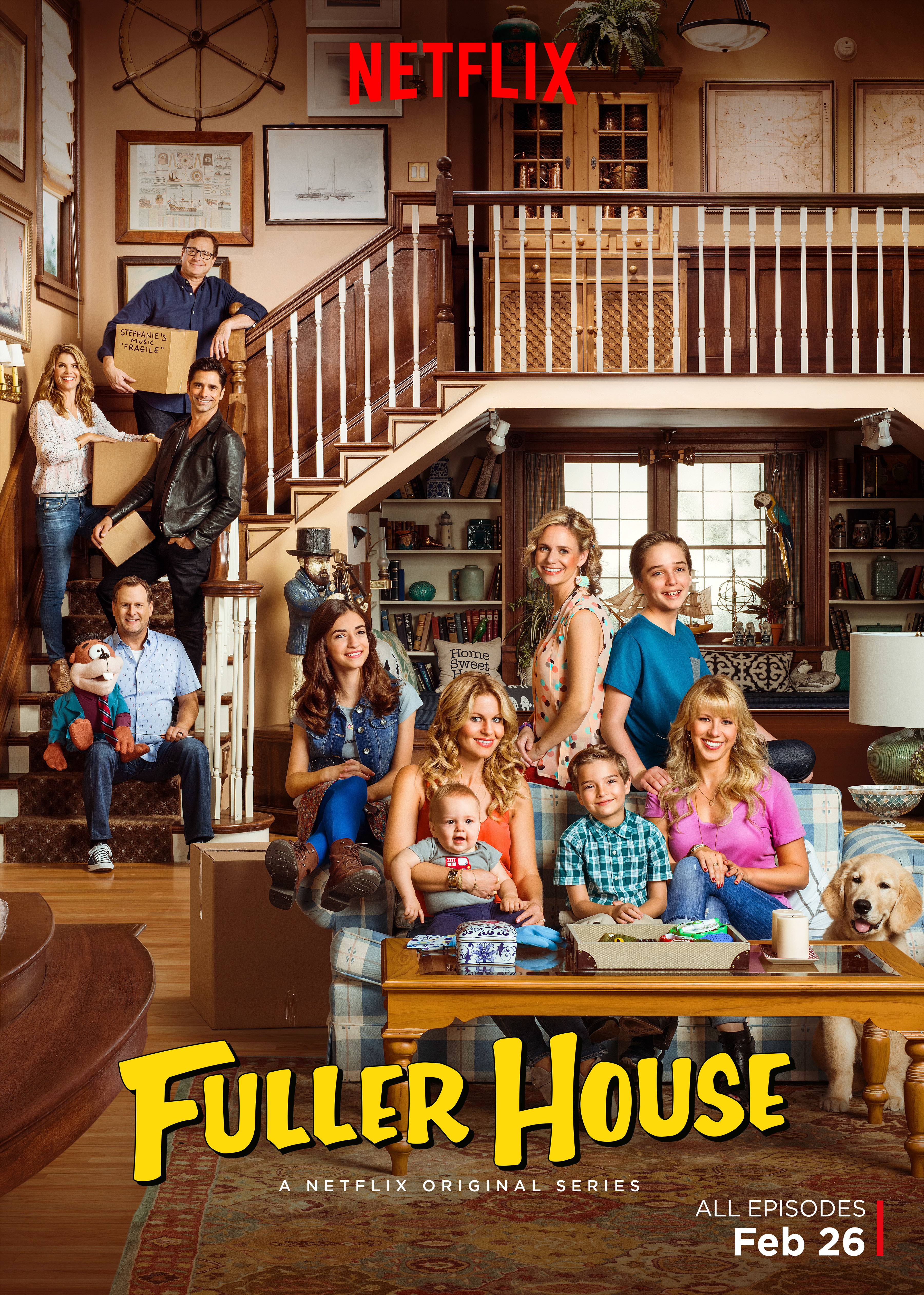 Candace Cameron Bure on 'Fuller House,' which debuts on Feb. 26, 2016: