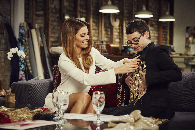 Maria Menounos on the inspiration for her Oscar dress: