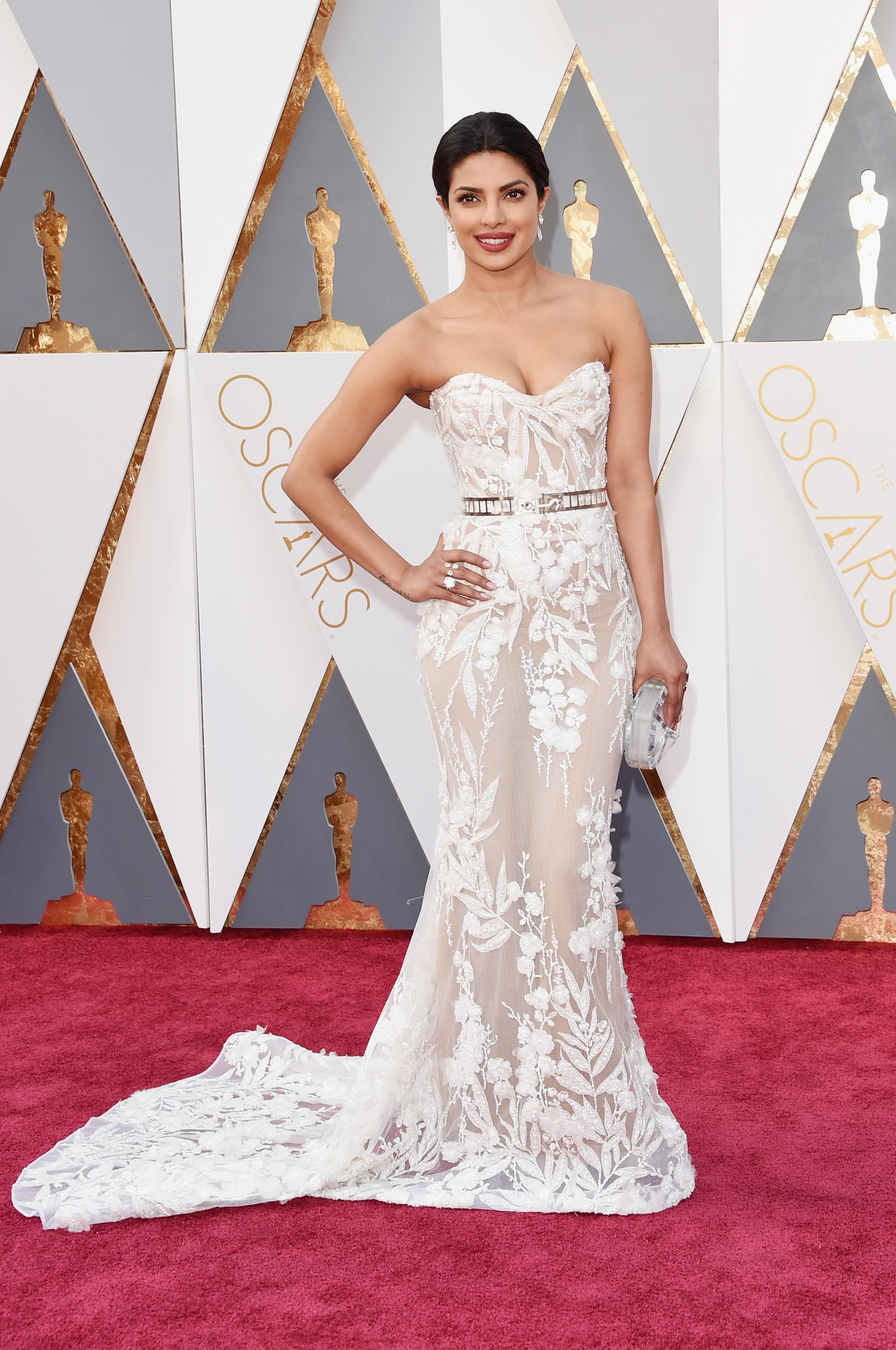 Priyanka Chopra Oscars The Most Revealing Dresses Of