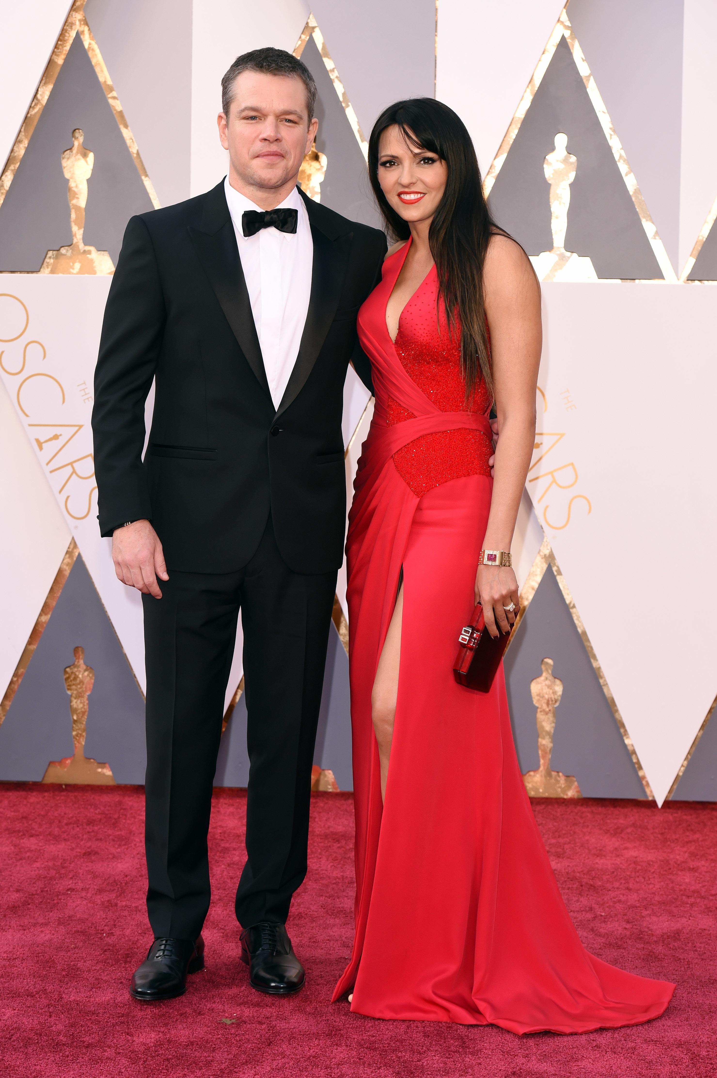 Matt Damon Luciana Oscars