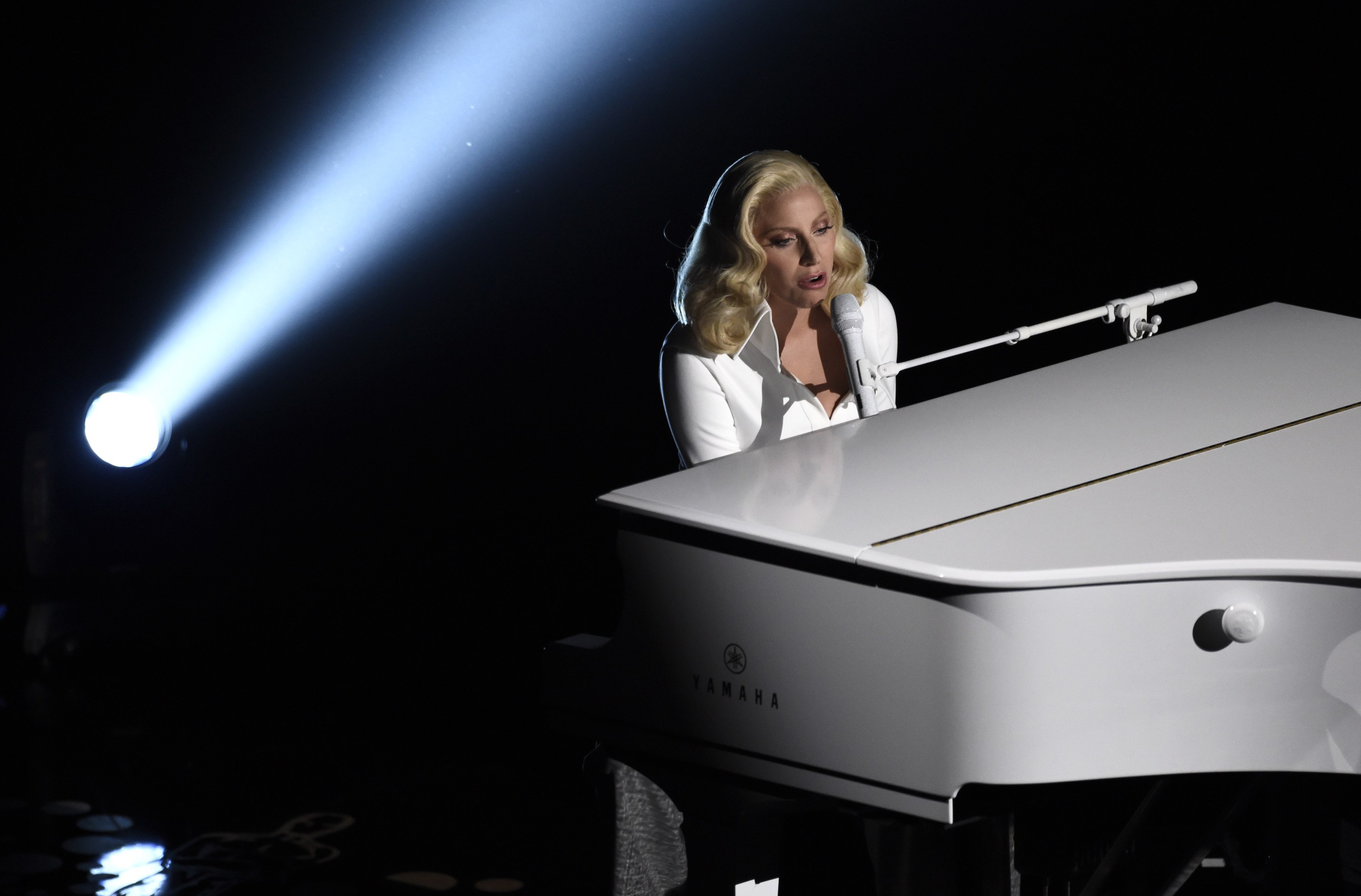 Lady Gaga encouraged women to speak up about sexual assault