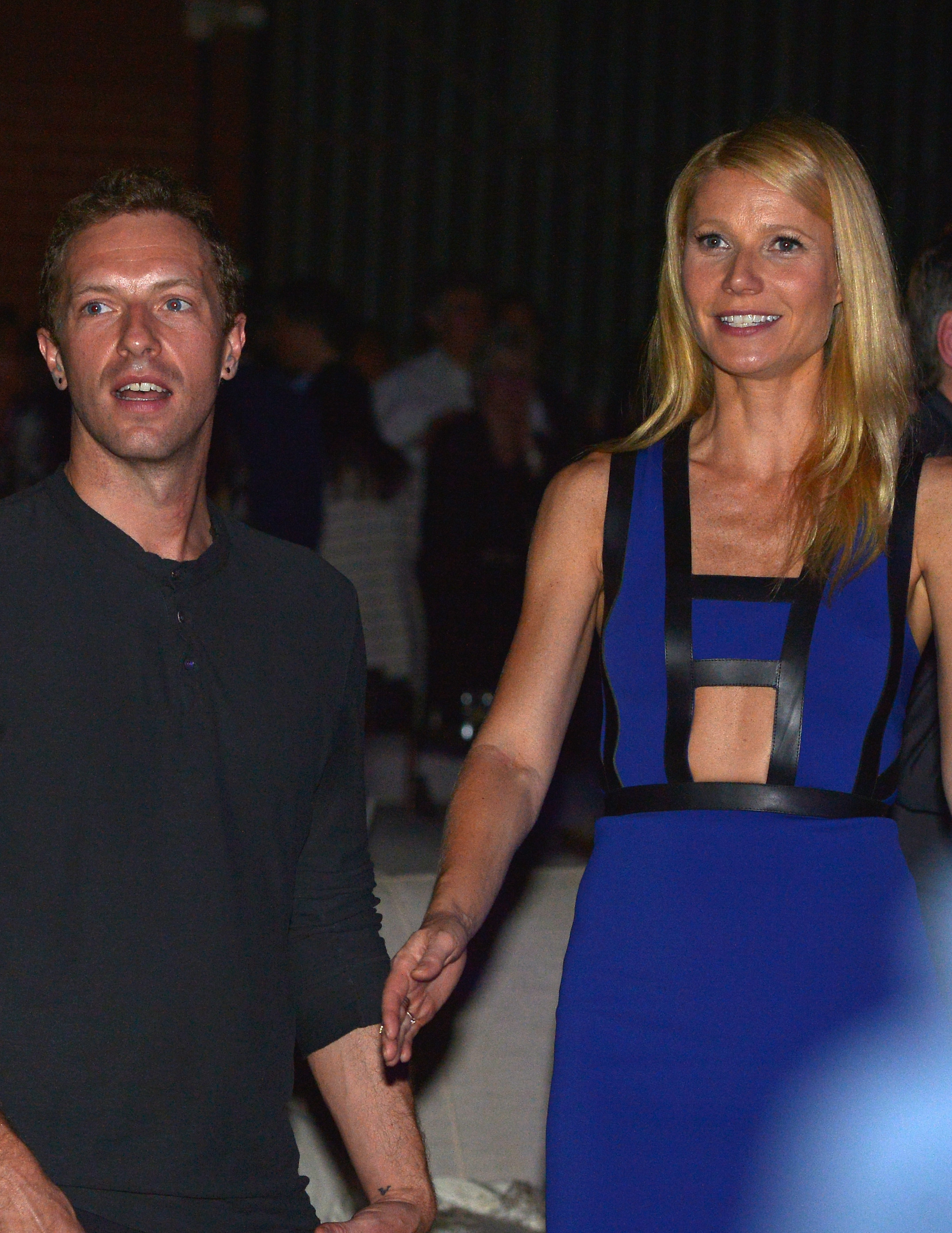 Gwyneth Paltrow catches Chris Martin's Cannes Lions show