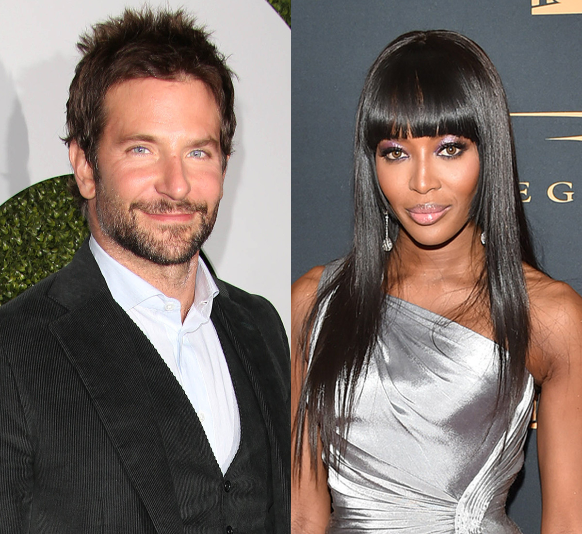 bradley cooper naomi campbell side by side